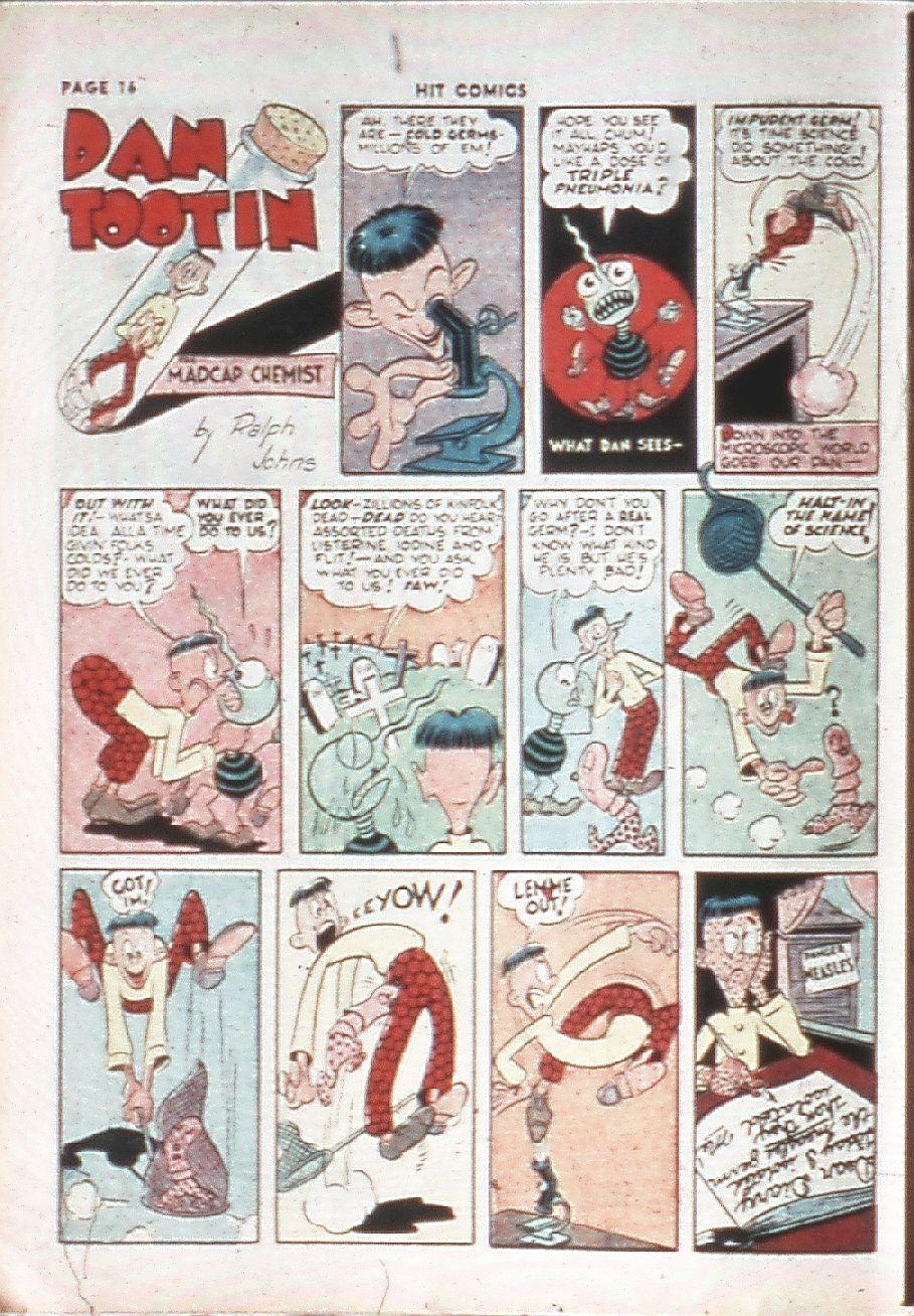 Read online Hit Comics comic -  Issue #10 - 18