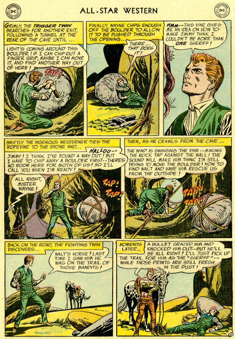 Read online All-Star Western (1951) comic -  Issue #83 - 8
