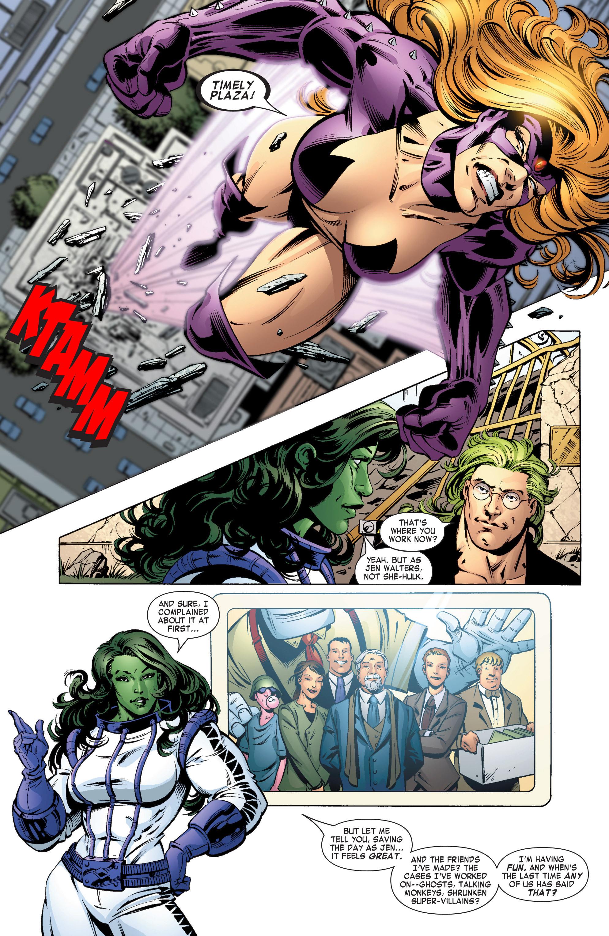 Read online She-Hulk (2004) comic -  Issue #11 - 11