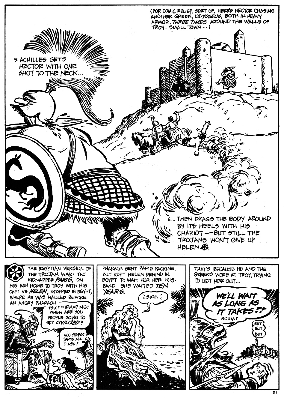 Read online The Cartoon History of the Universe comic -  Issue #5 - 23