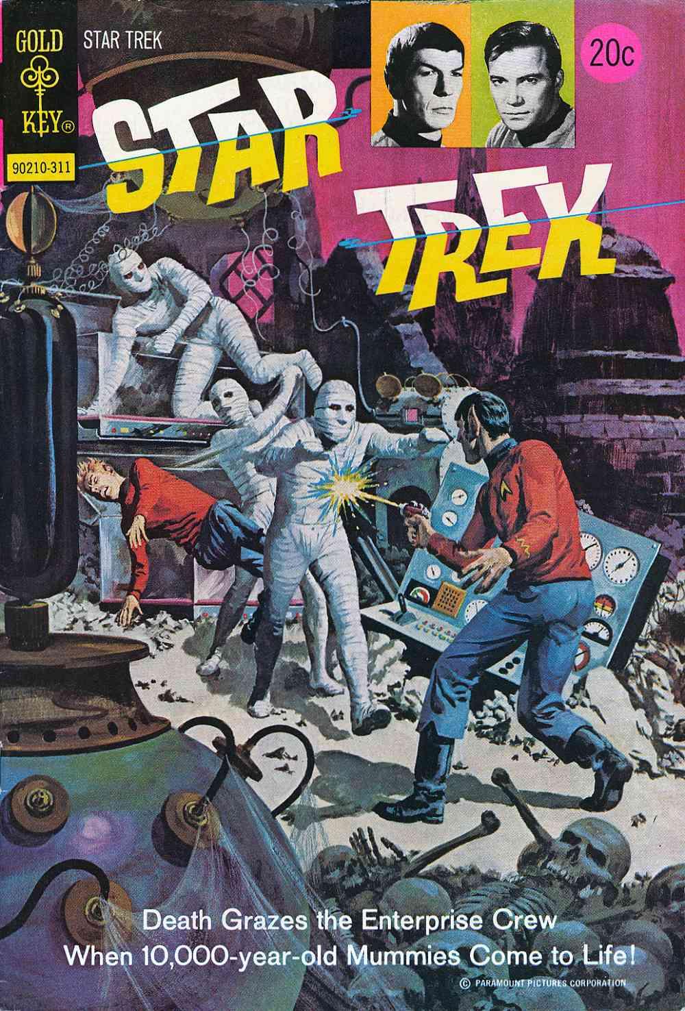 Star Trek (1967) issue 21 - Page 1
