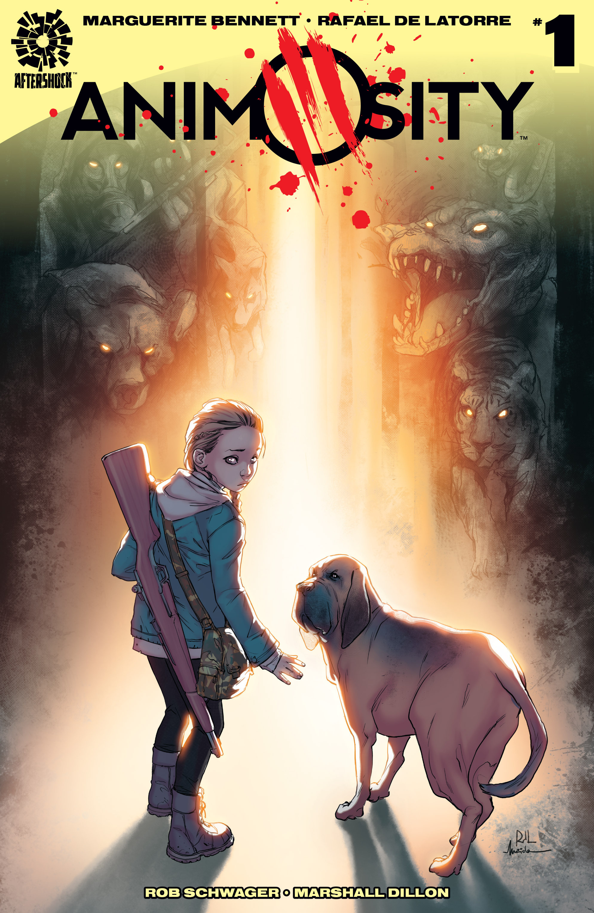 Read online Animosity comic -  Issue #1 - 1