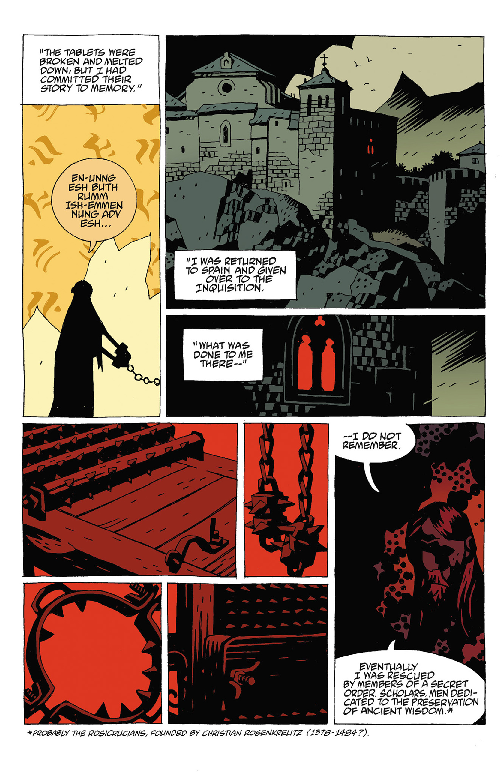 Read online Hellboy: Strange Places comic -  Issue # TPB - 102