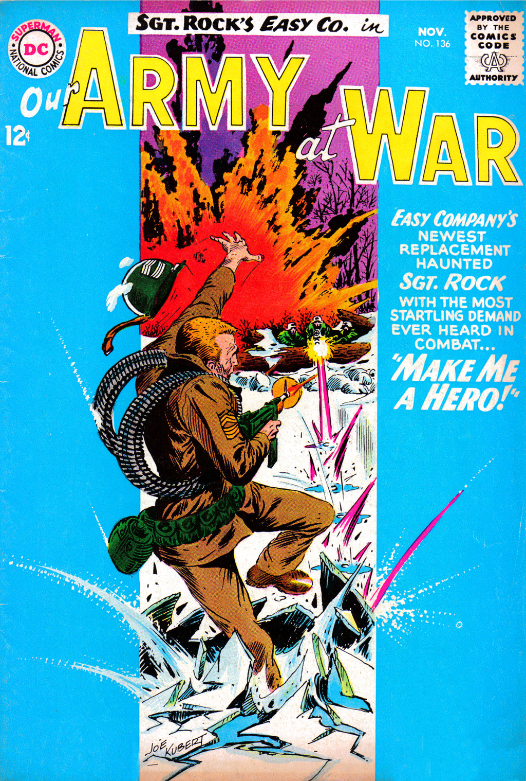 Our Army at War (1952) issue 136 - Page 1