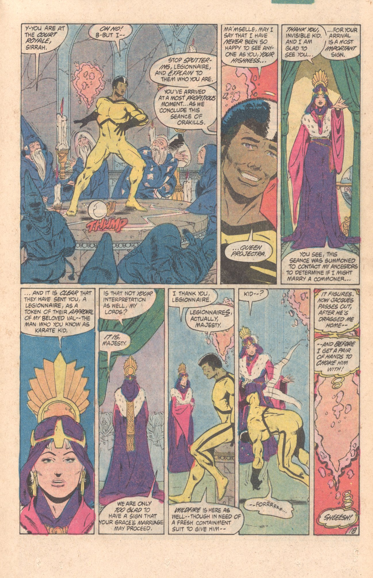 Legion of Super-Heroes (1980) 299 Page 18