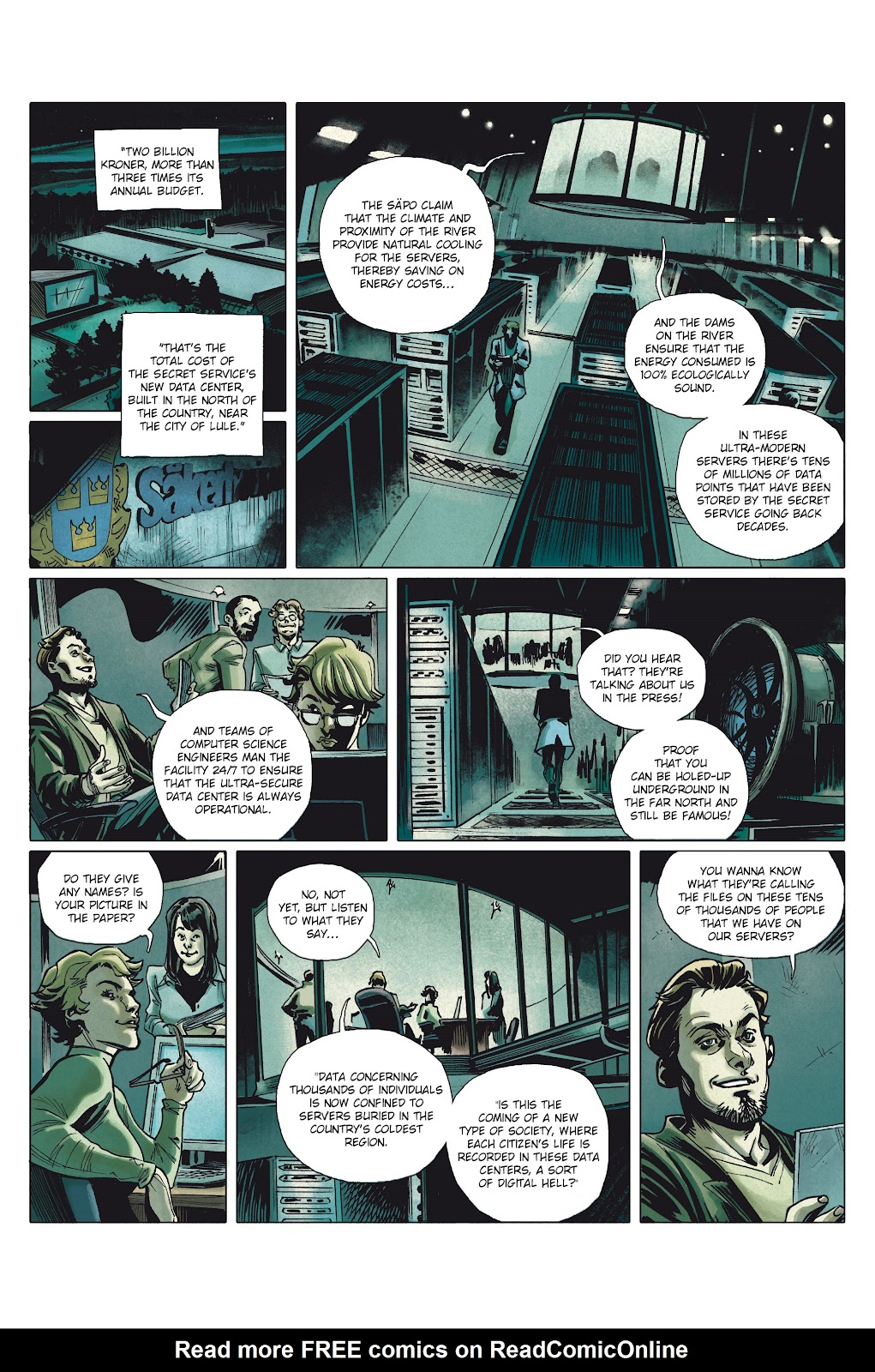 Read online Millennium: The Girl Who Danced With Death comic -  Issue #1 - 33