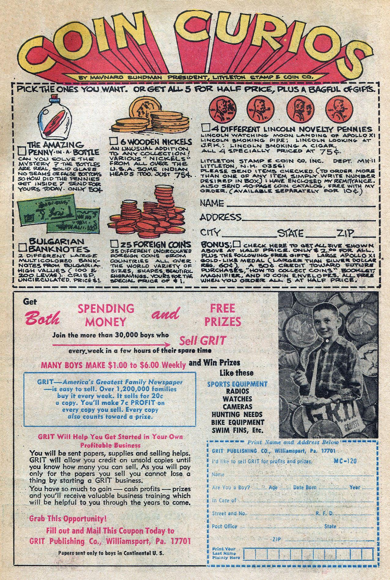Read online Amazing Adventures (1970) comic -  Issue #4 - 31