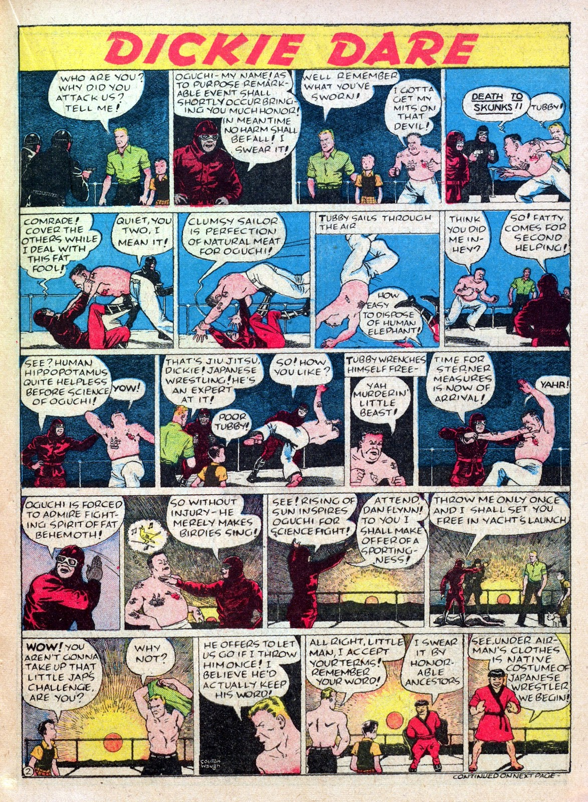 Read online Famous Funnies comic -  Issue #45 - 27