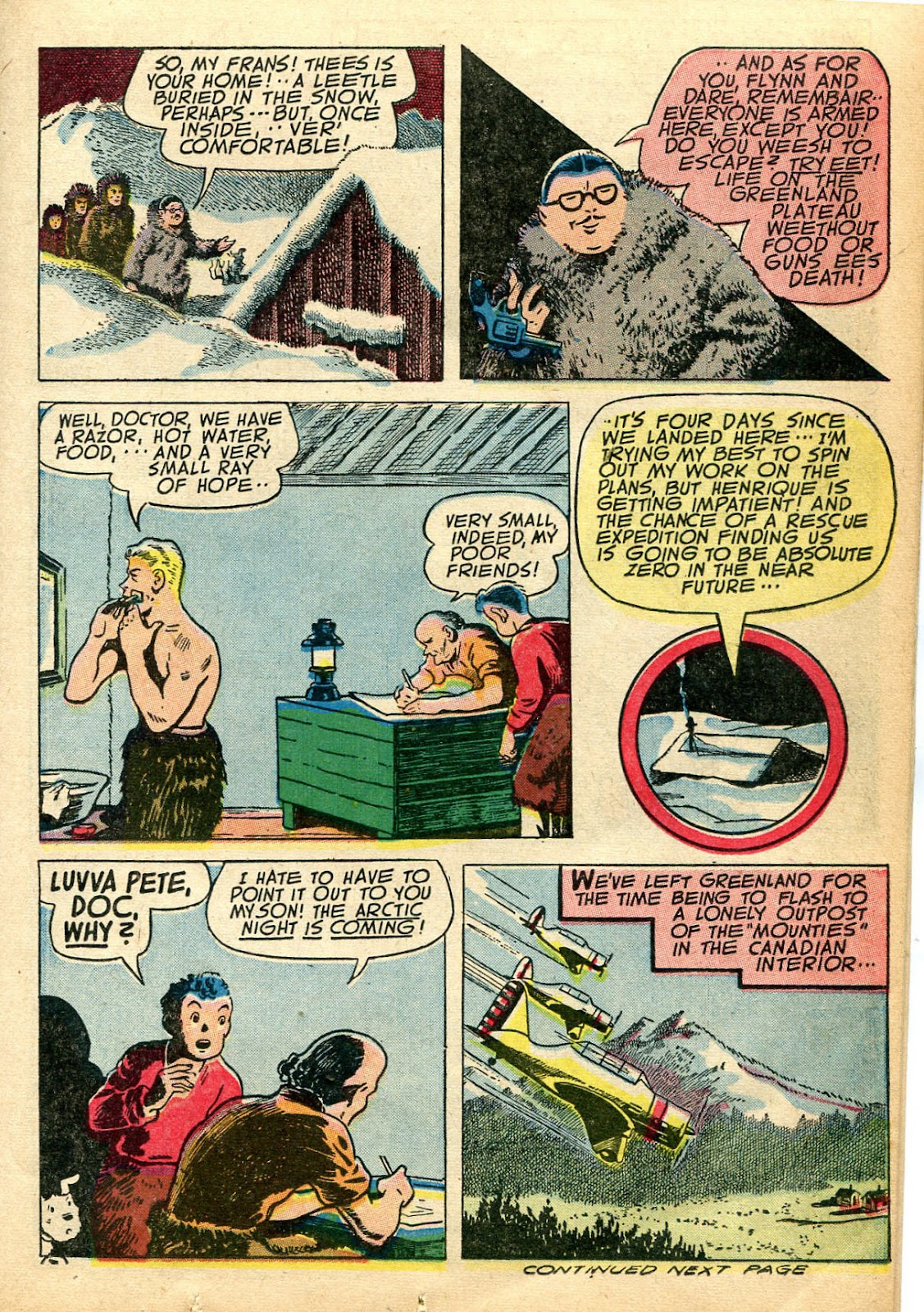 Read online Famous Funnies comic -  Issue #110 - 21
