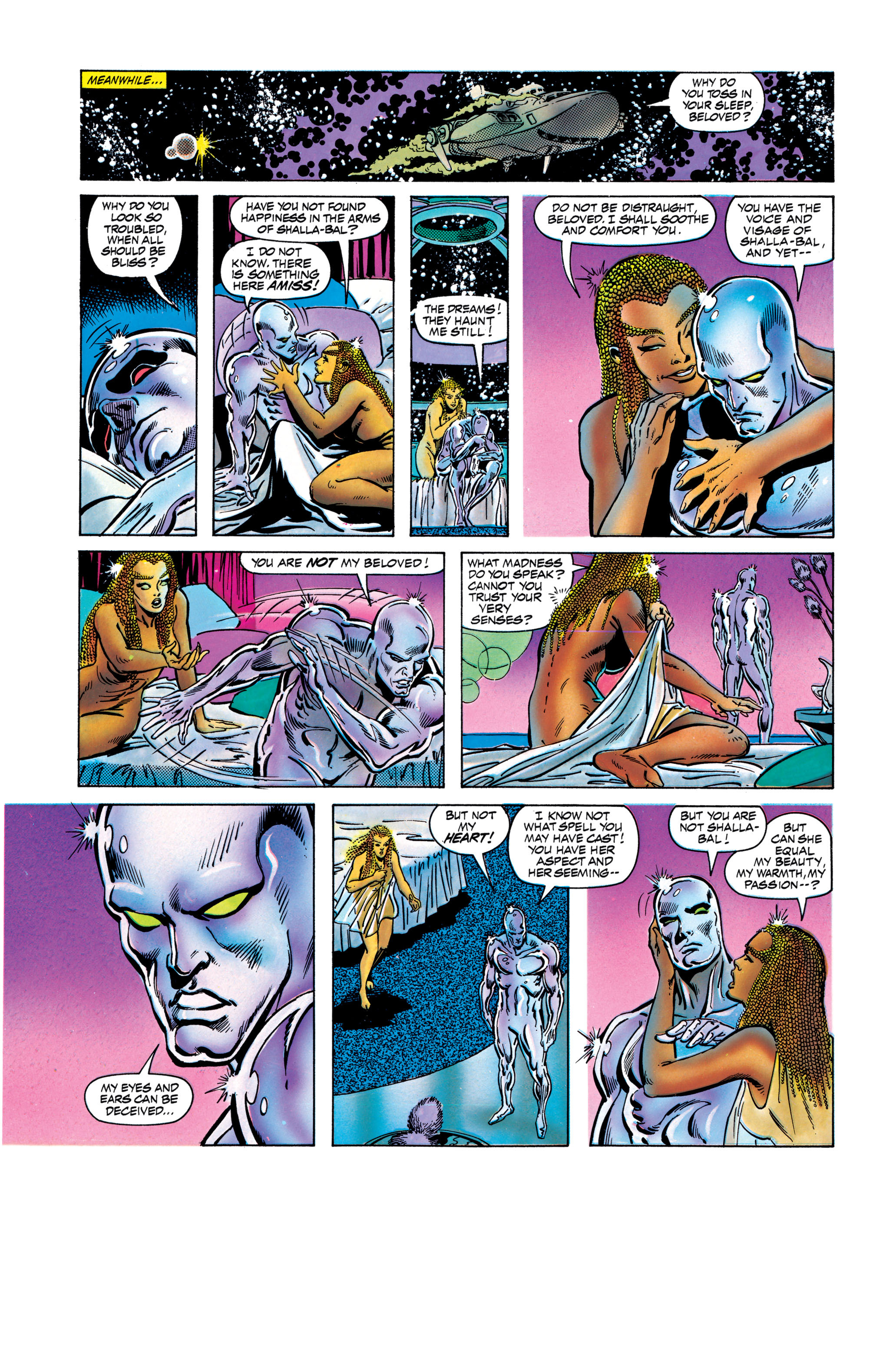 Read online Silver Surfer: Parable comic -  Issue # TPB - 104