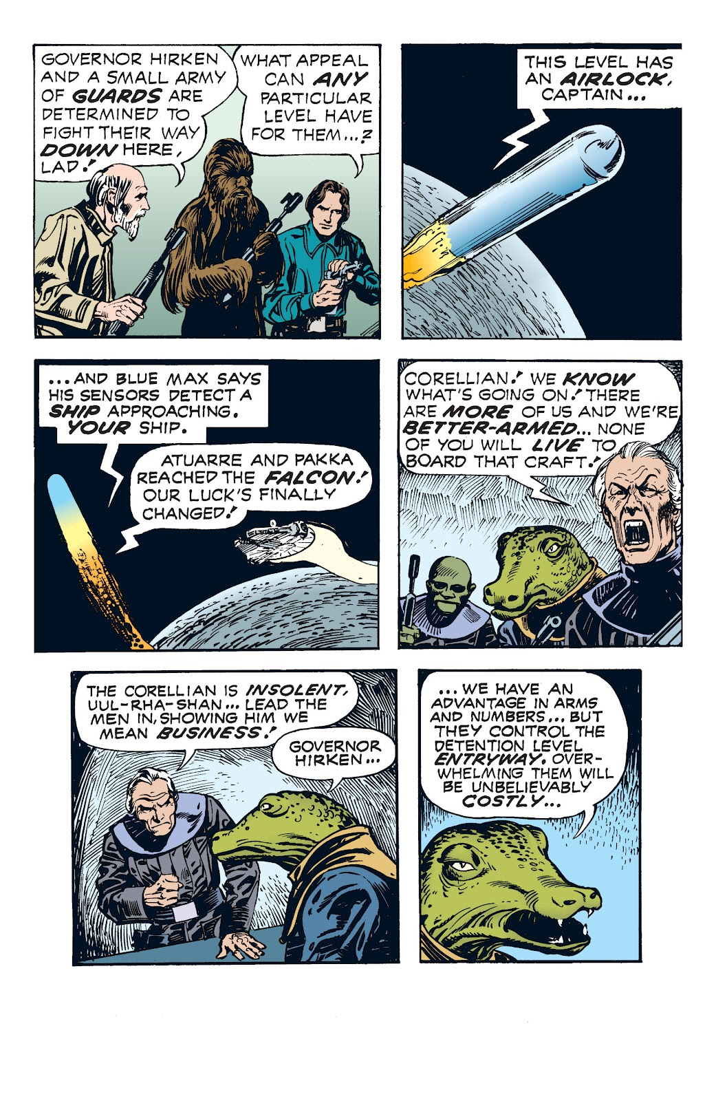 Read online Star Wars Legends: The Newspaper Strips - Epic Collection comic -  Issue # TPB (Part 4) - 68