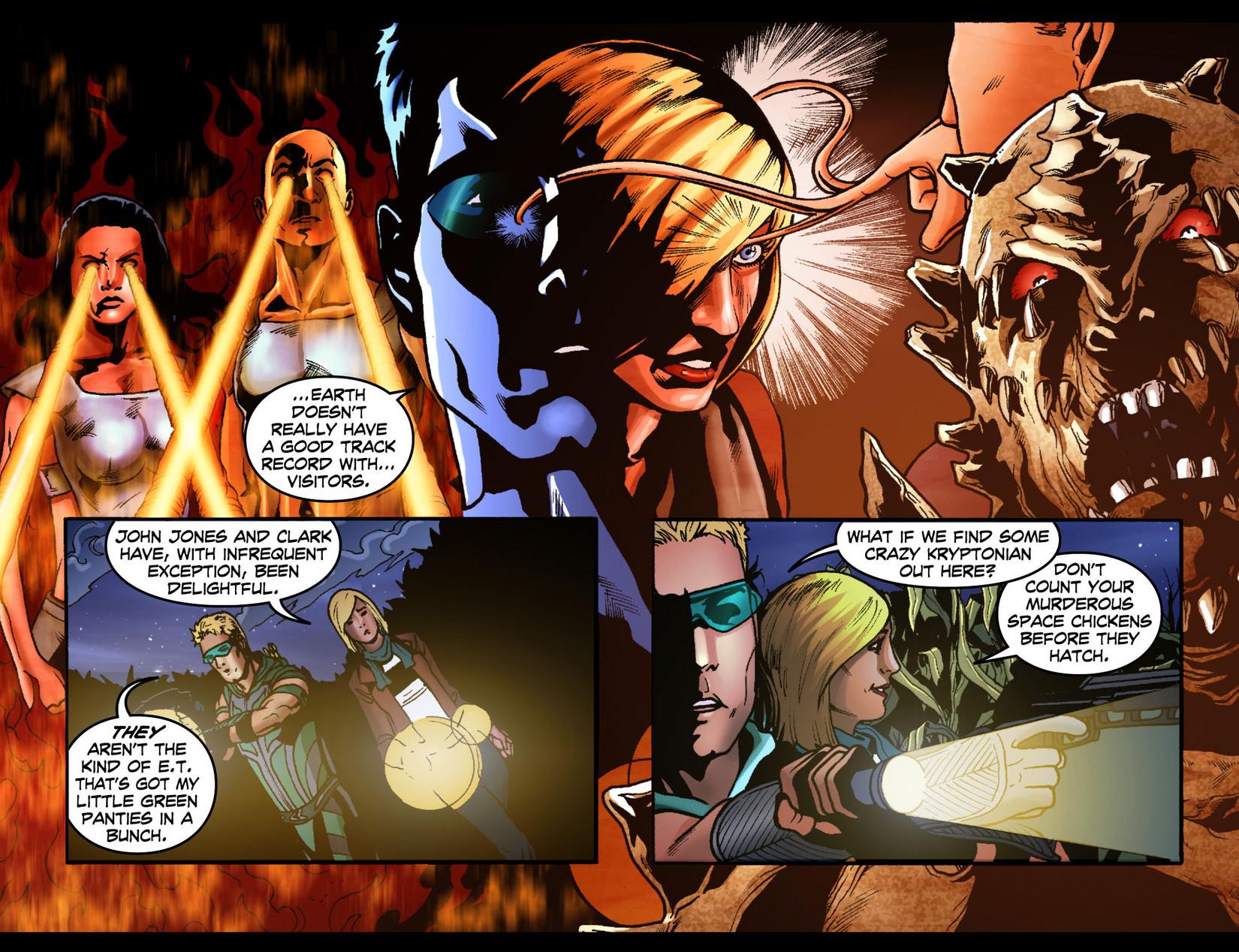 Read online Smallville: Season 11 comic -  Issue #7 - 6