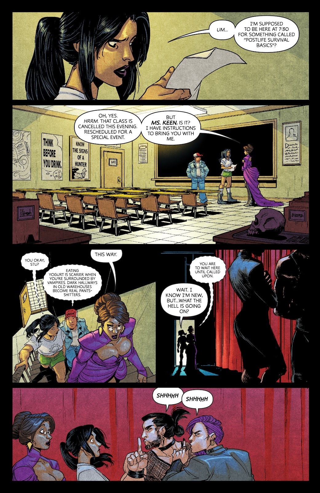 Read online Dark Red comic -  Issue #7 - 9