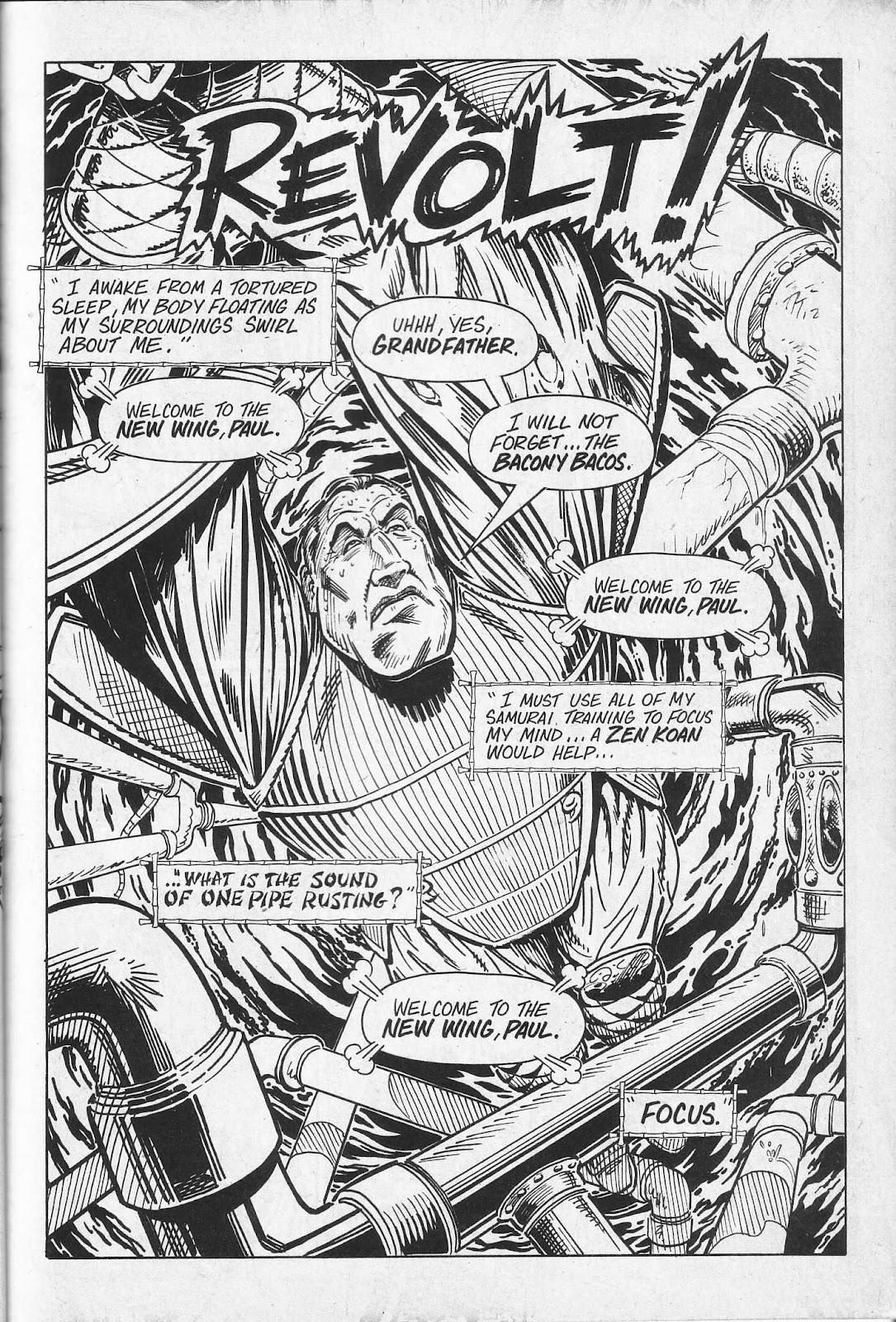 Read online Paul the Samurai (1991) comic -  Issue # TPB - 37
