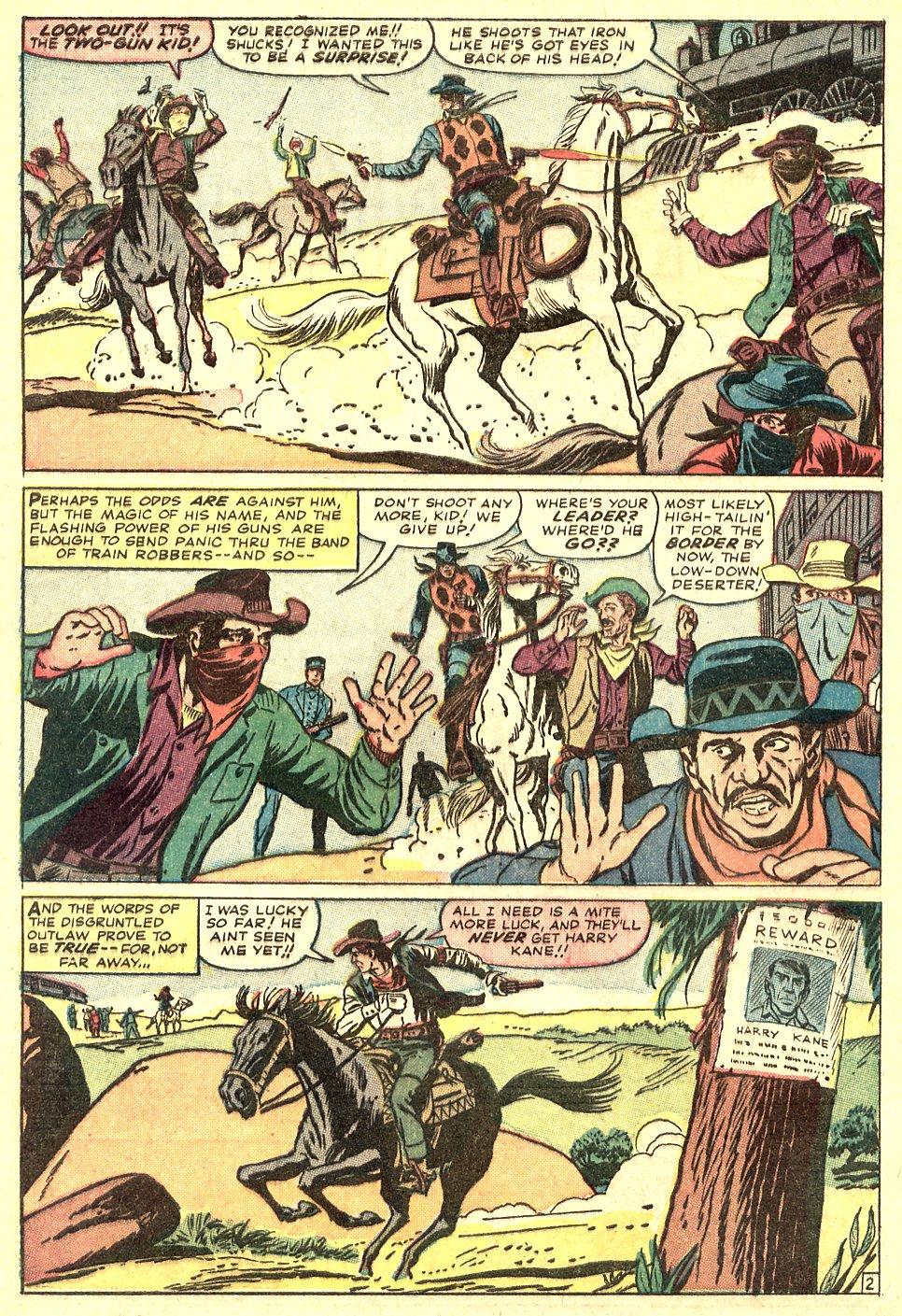 Read online Two-Gun Kid comic -  Issue #70 - 4
