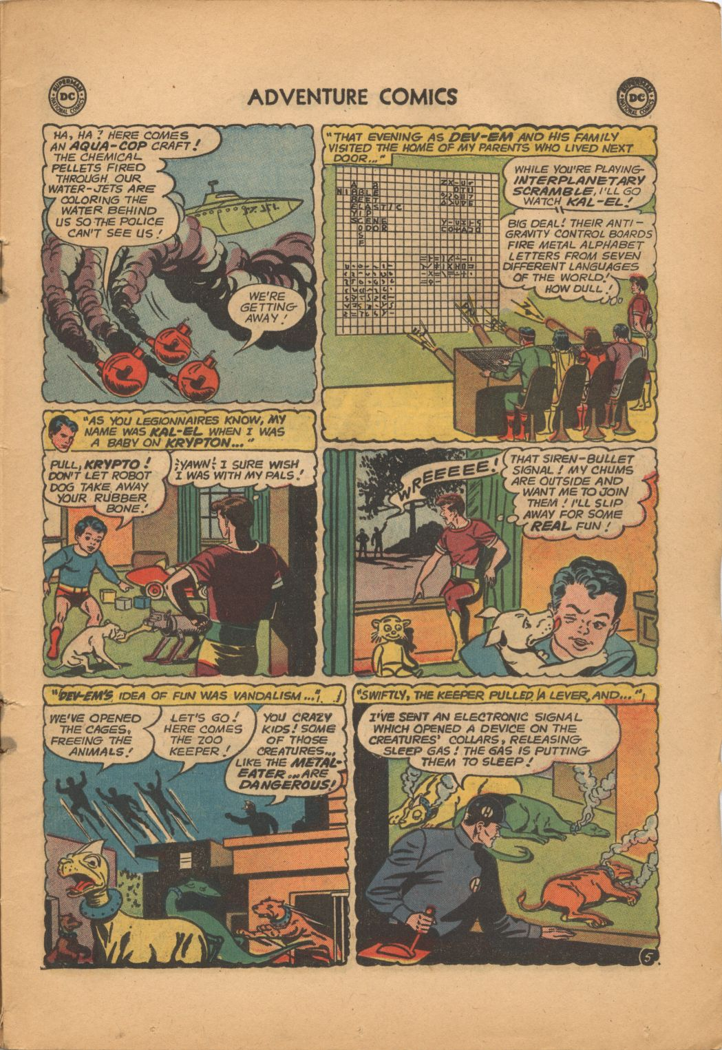 Read online Adventure Comics (1938) comic -  Issue #320 - 7
