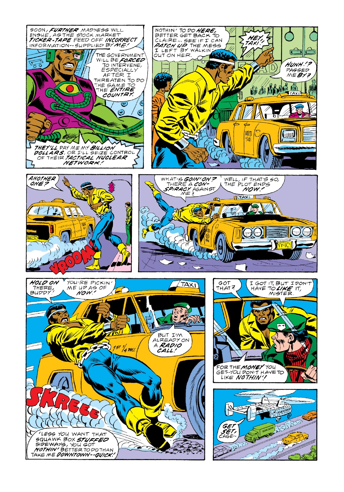 Read online Marvel Masterworks: Luke Cage, Power Man comic -  Issue # TPB 3 (Part 2) - 79