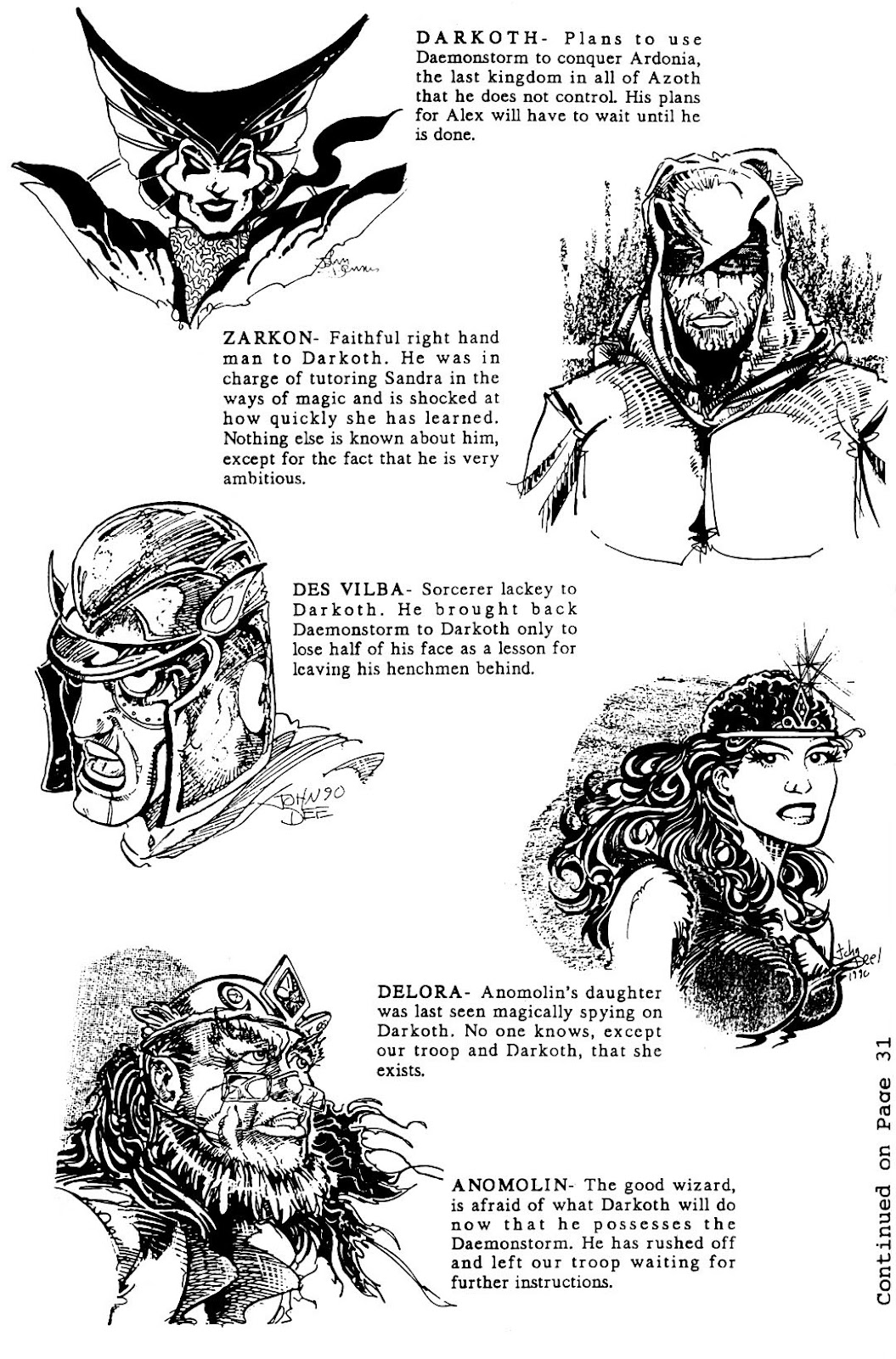 The Realm (1986) issue 20 - Page 4