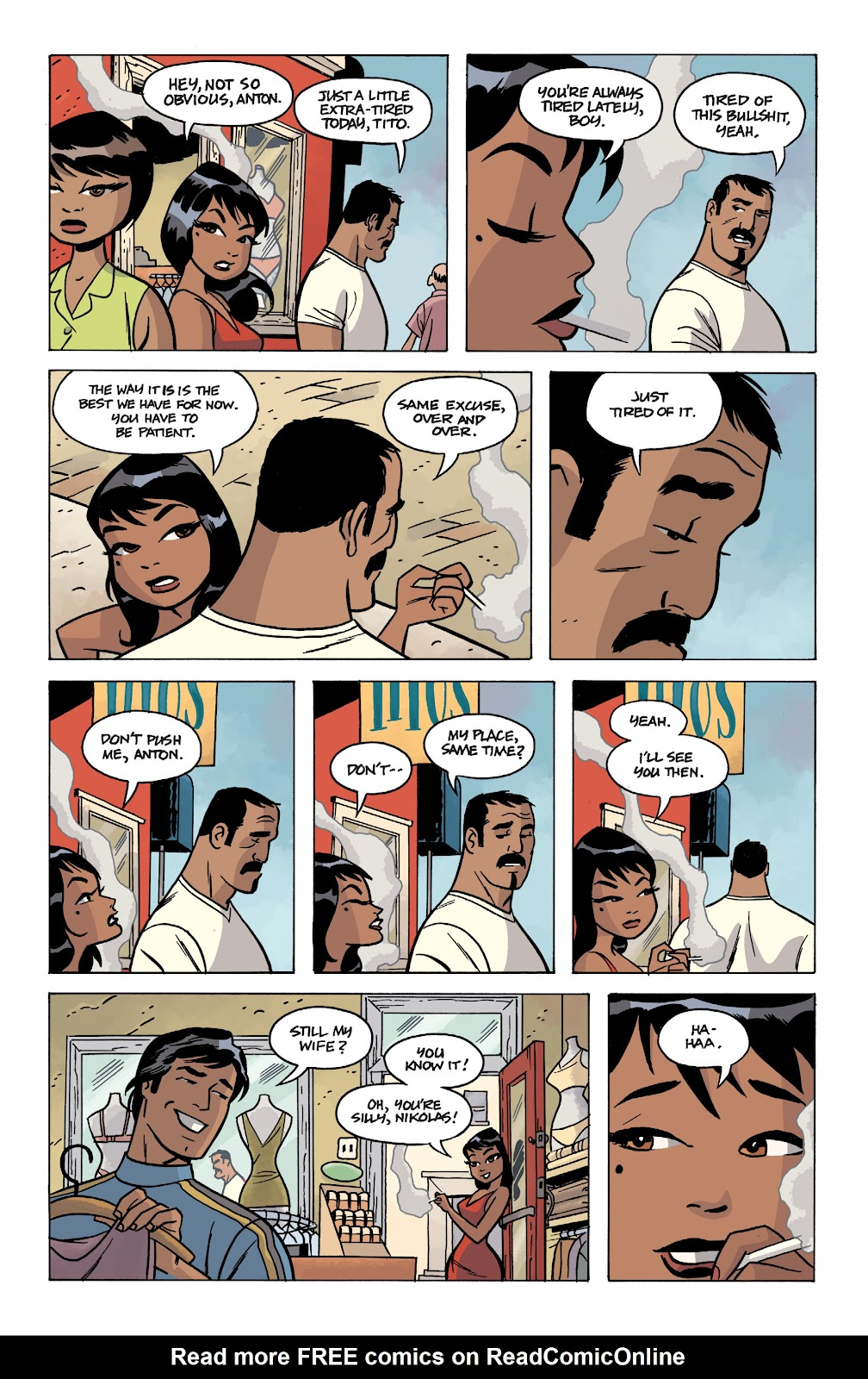 Read online The Twilight Children comic -  Issue #1 - 5