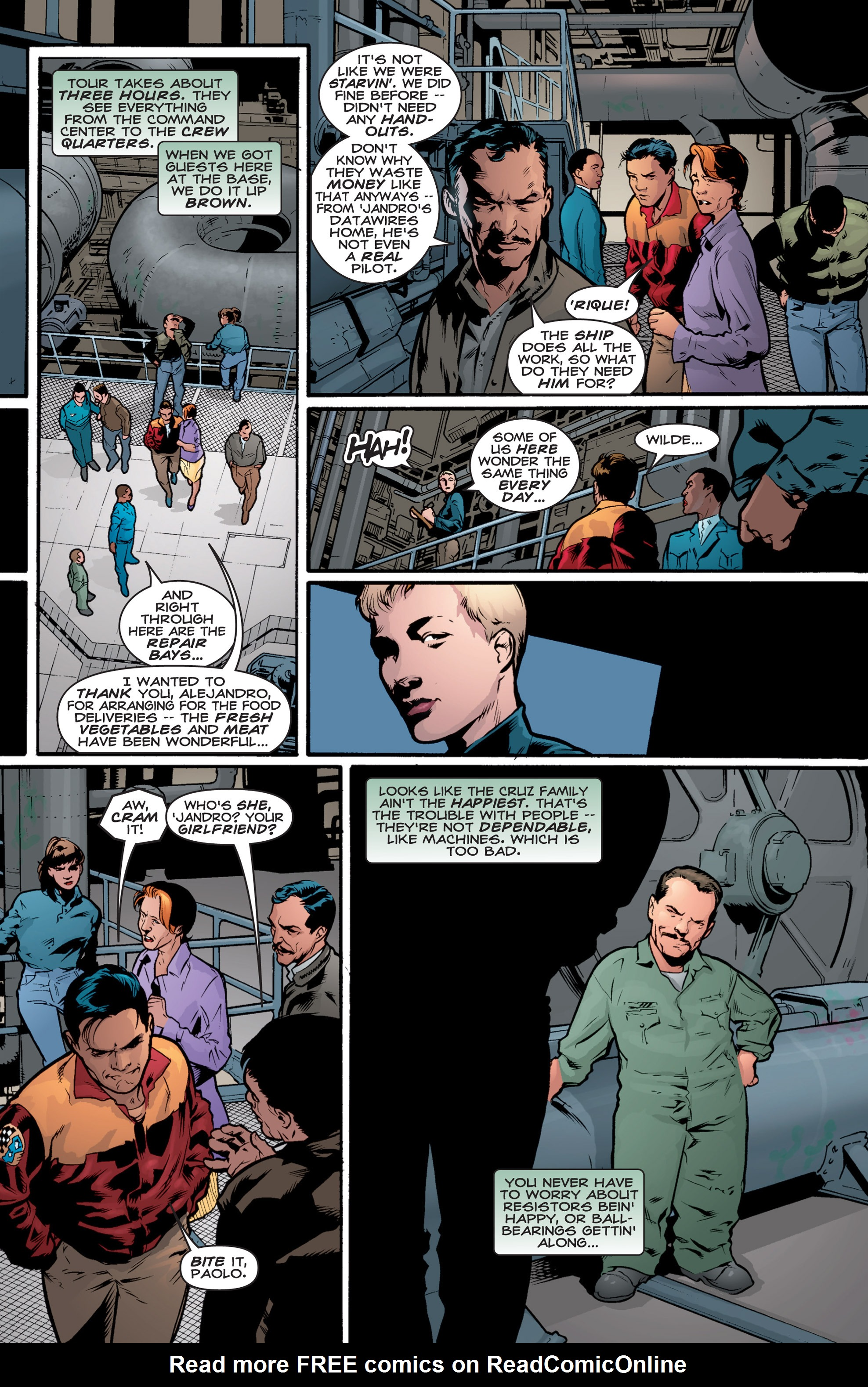 Read online Shockrockets comic -  Issue # TPB - 81