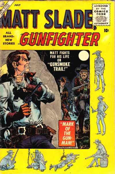Matt Slade, Gunfighter 2 Page 1