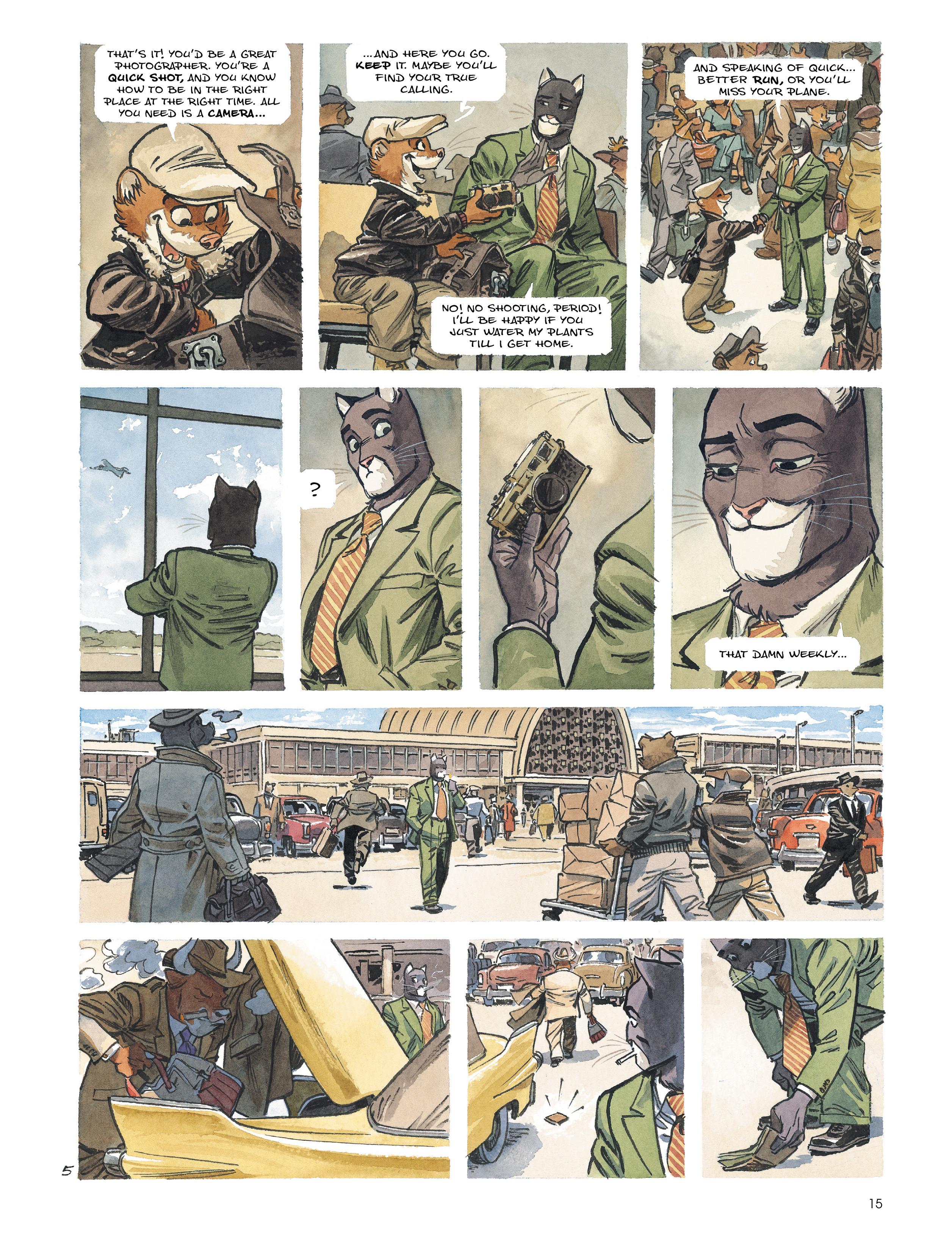 Read online Blacksad: Amarillo comic -  Issue # Full - 14