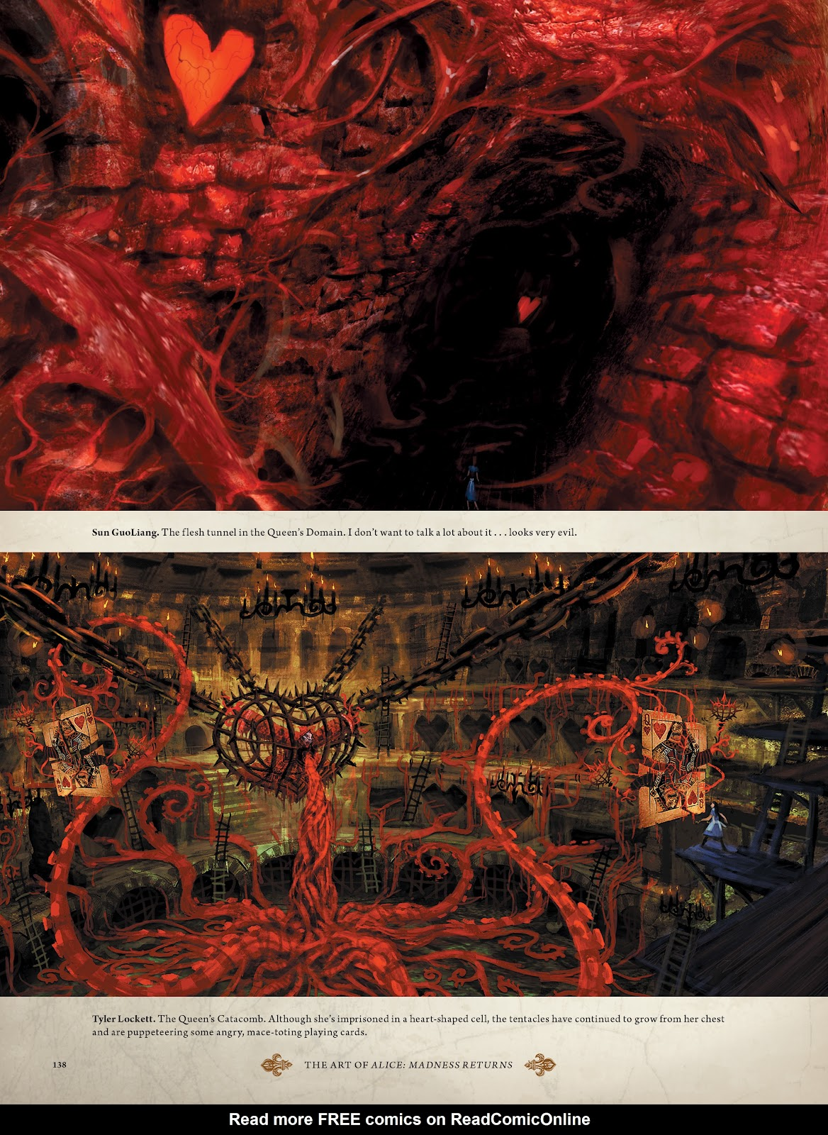 Read online The Art of Alice: Madness Returns comic -  Issue # TPB (Part 2) - 33