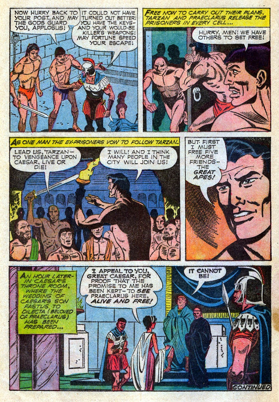 Tarzan (1962) issue 195 - Page 16