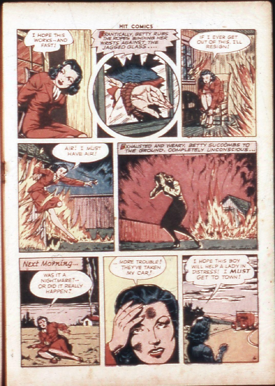 Read online Hit Comics comic -  Issue #30 - 24