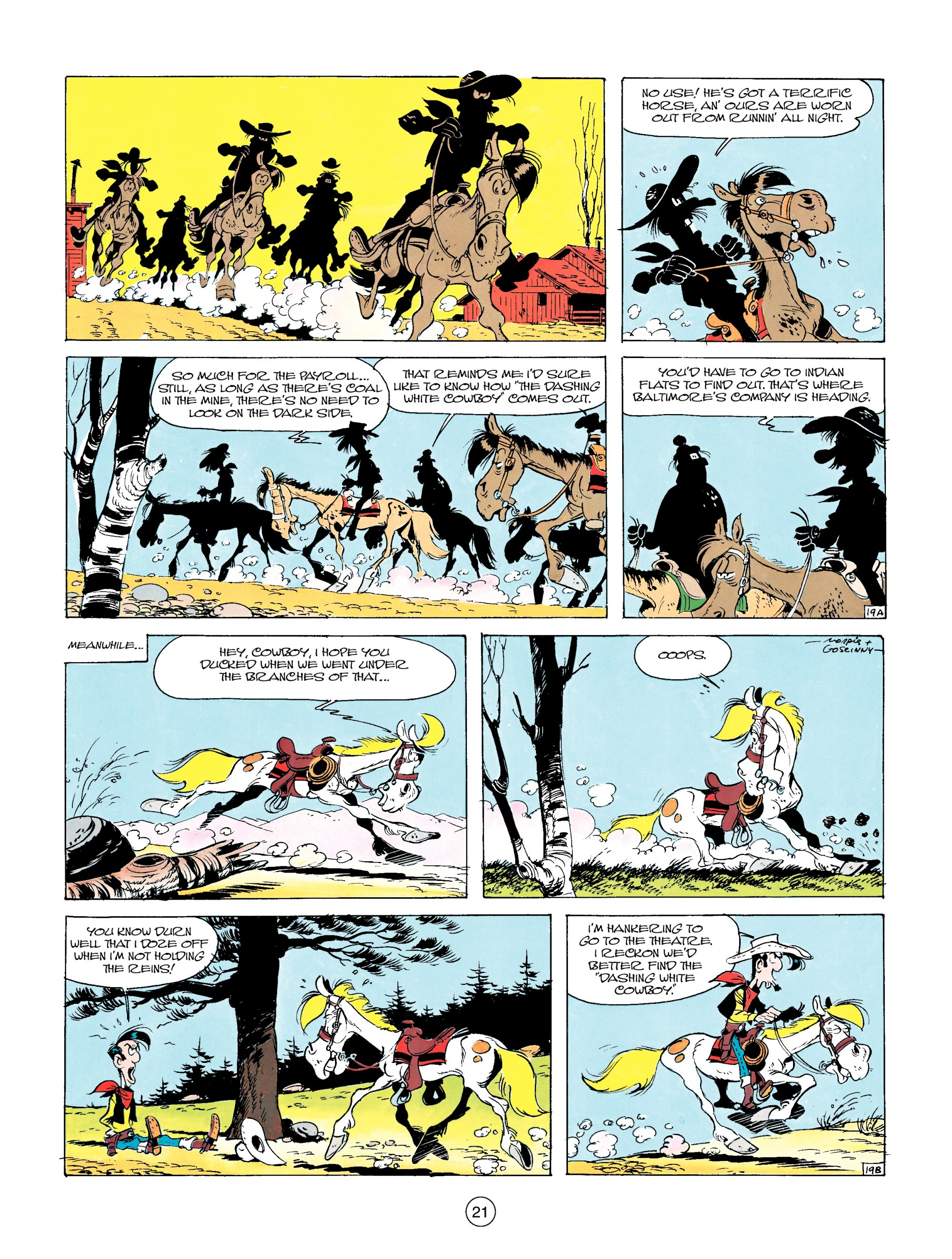 Read online A Lucky Luke Adventure comic -  Issue #14 - 21