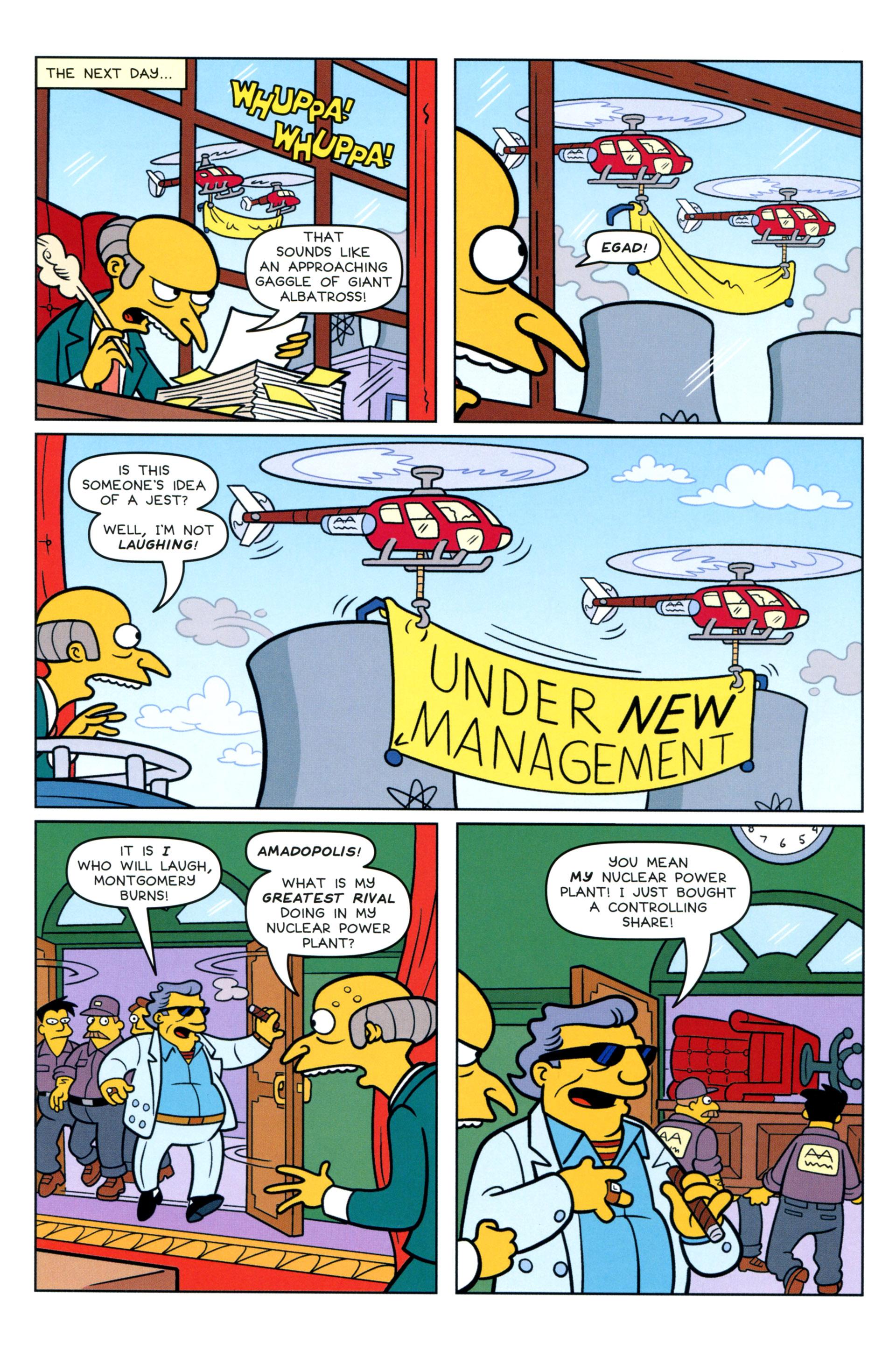 Read online Simpsons Comics comic -  Issue #205 - 15