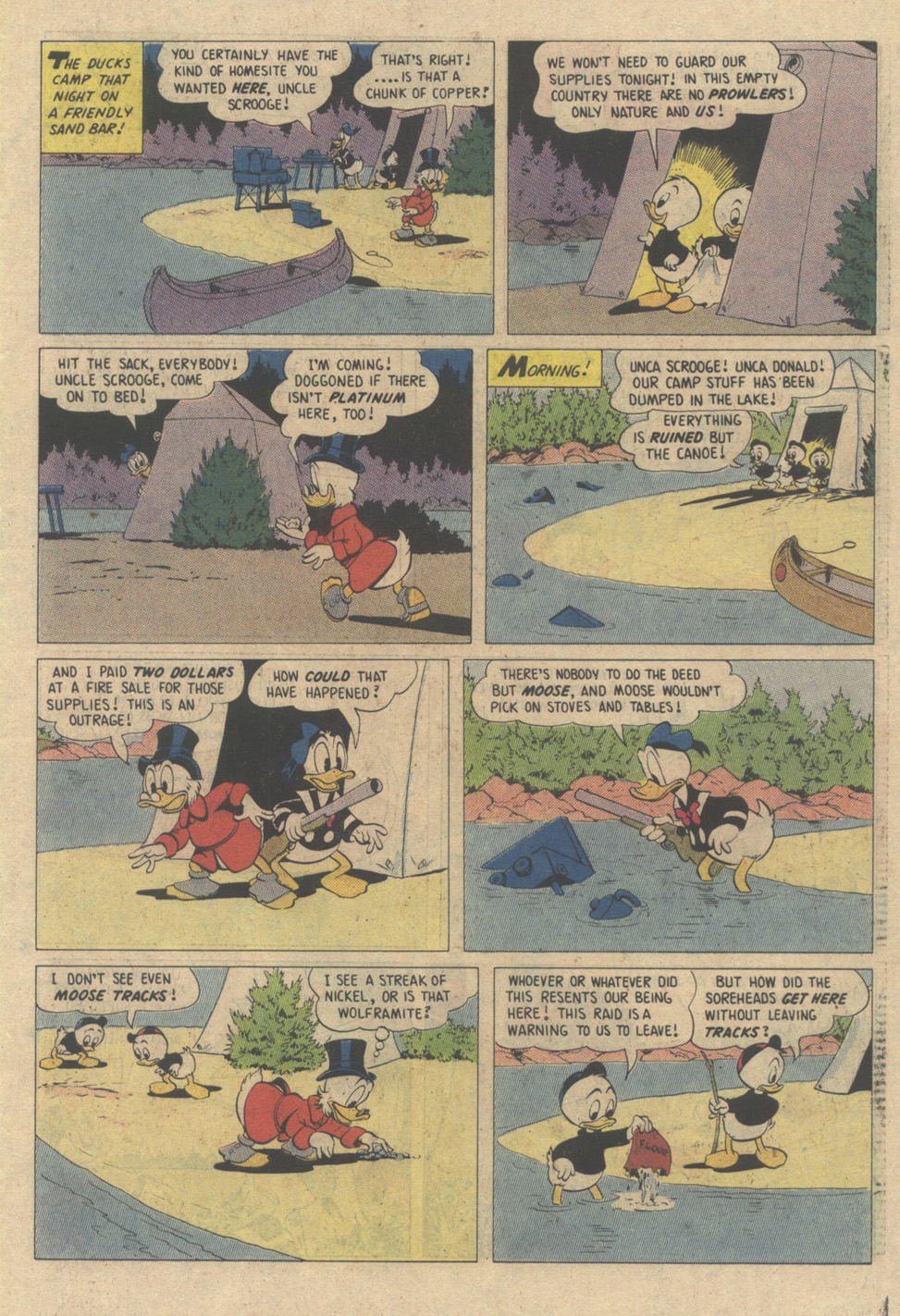 Read online Uncle Scrooge (1953) comic -  Issue #208 - 7