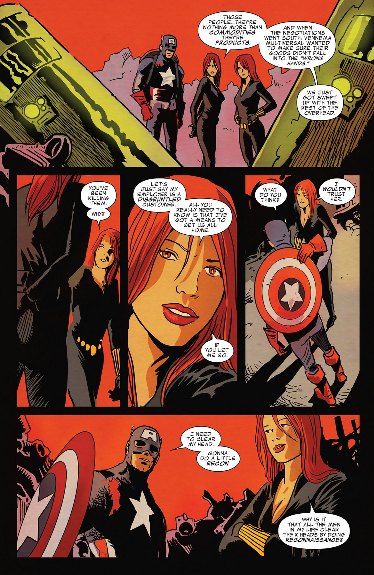 Read online Captain America And Black Widow comic -  Issue #637 - 18
