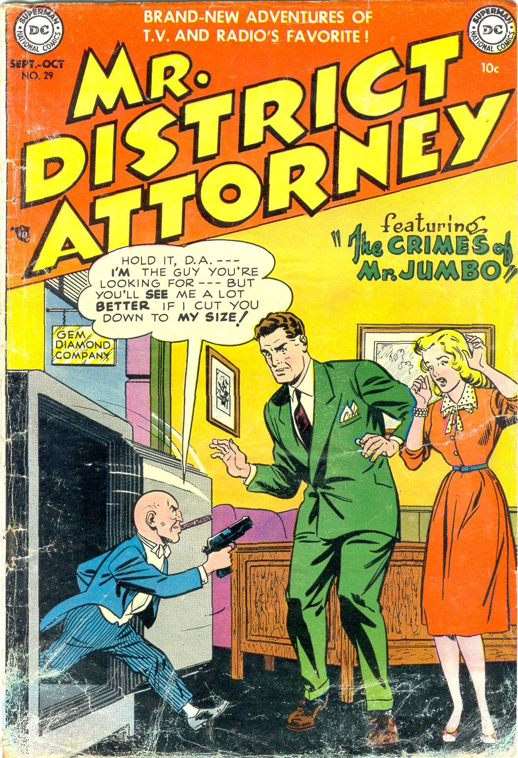 Mr. District Attorney issue 29 - Page 1