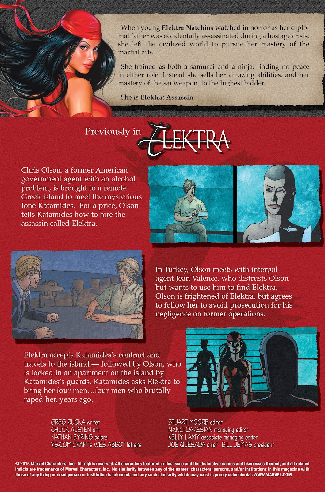 Read online Elektra (2001) comic -  Issue # _TPB Elektra by Greg Rucka Ultimate Collection (Part 1) - 28