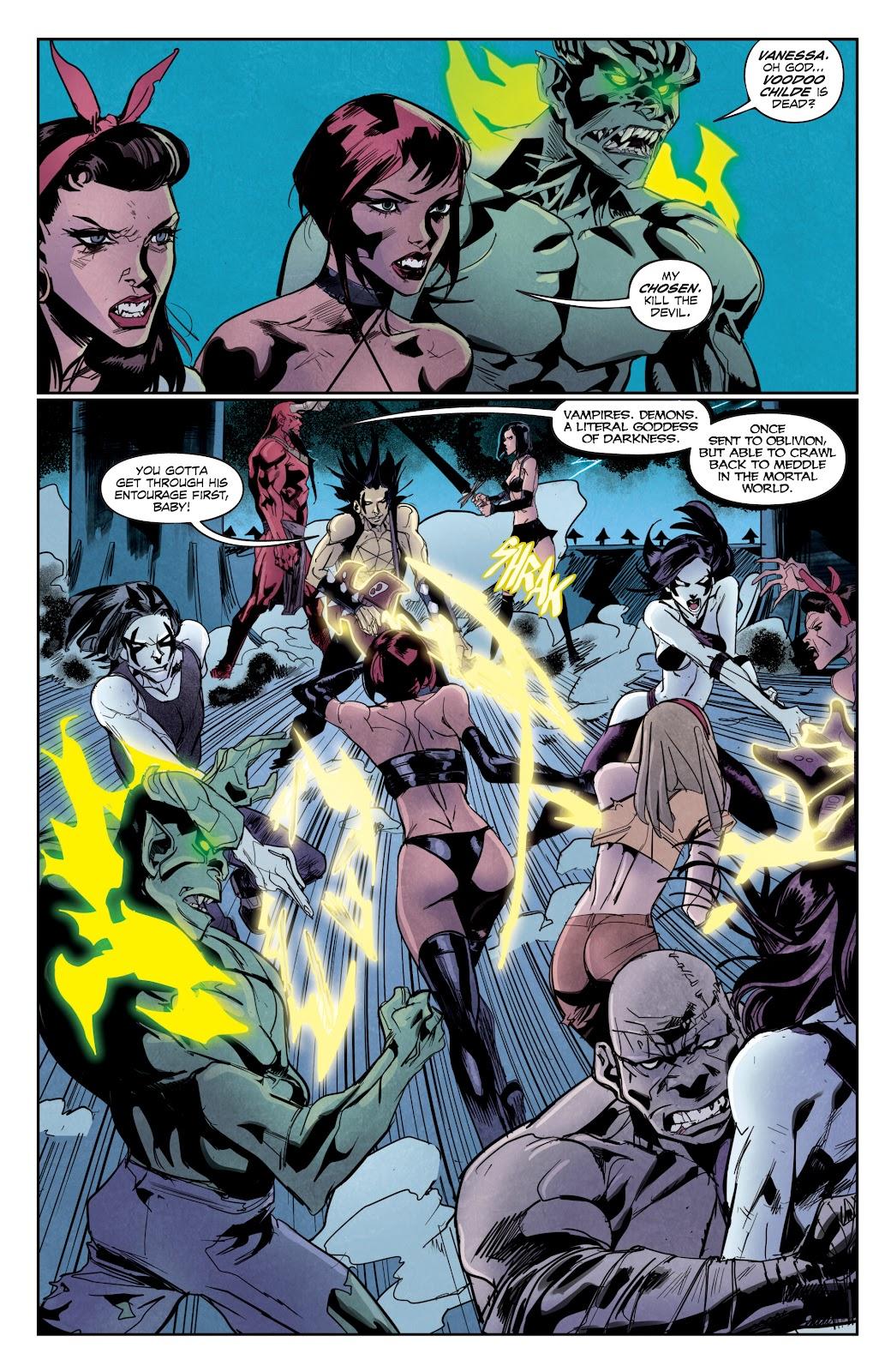 Read online Hack/Slash vs. Chaos comic -  Issue #5 - 13