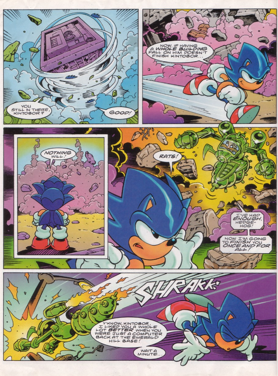 Read online Sonic the Comic comic -  Issue #144 - 6
