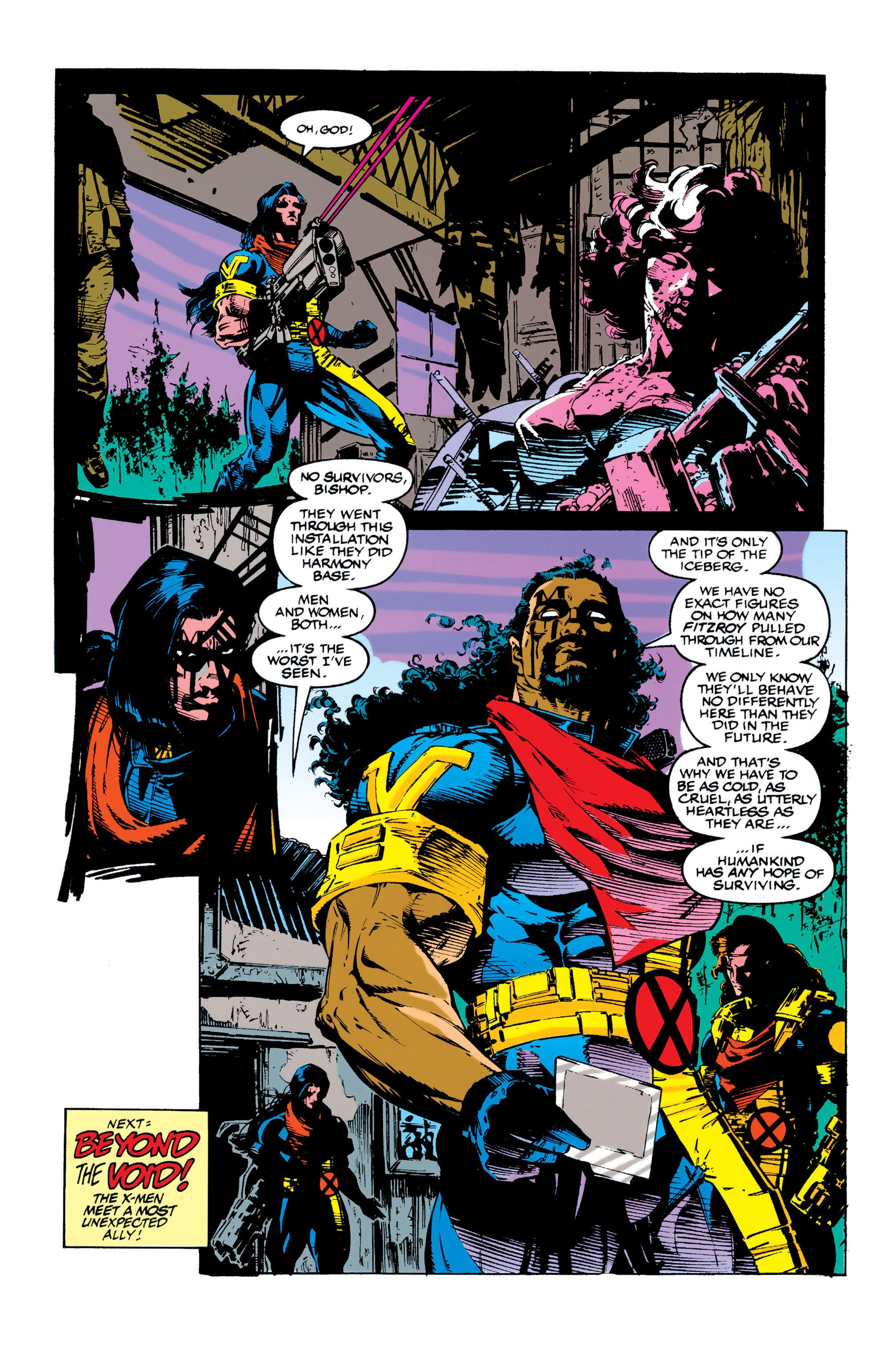 Read online Uncanny X-Men (1963) comic -  Issue #284 - 22
