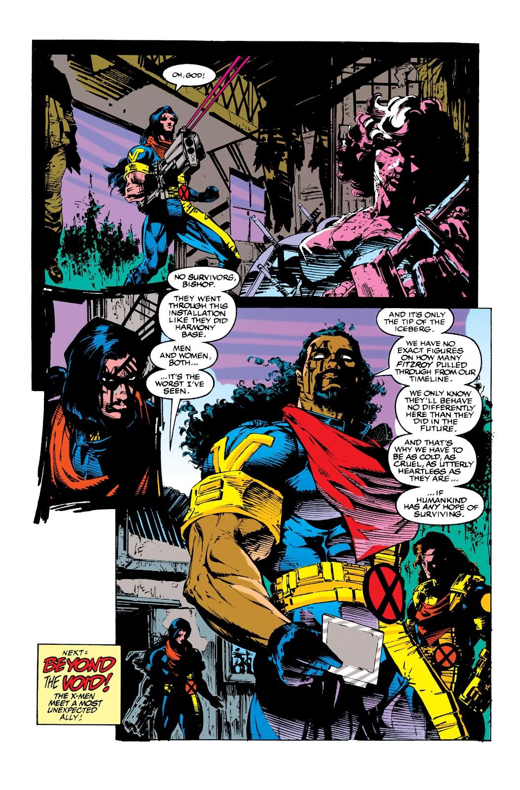 Uncanny X-Men (1963) issue 284 - Page 22