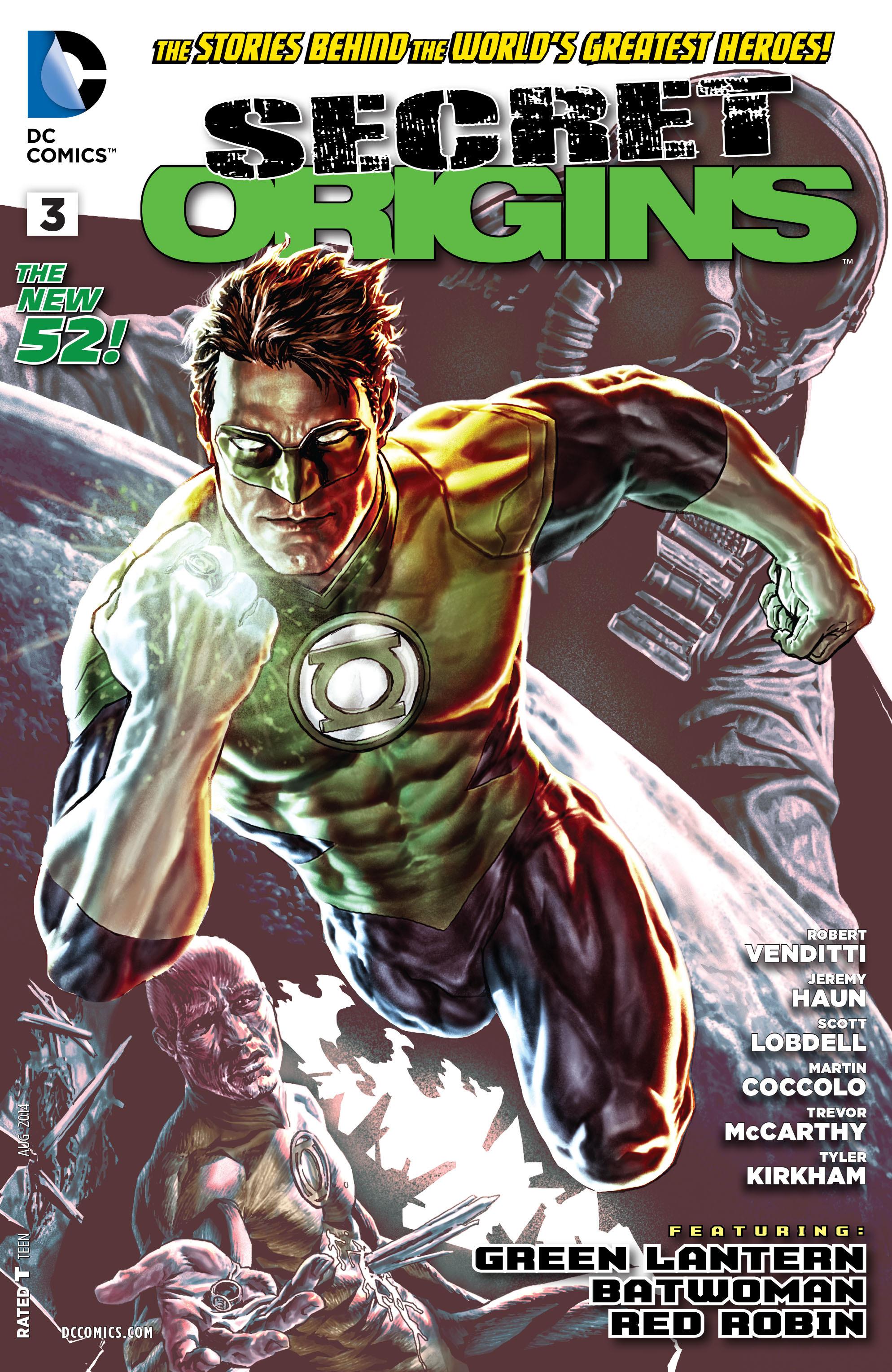 Read online Secret Origins (2014) comic -  Issue #3 - 1