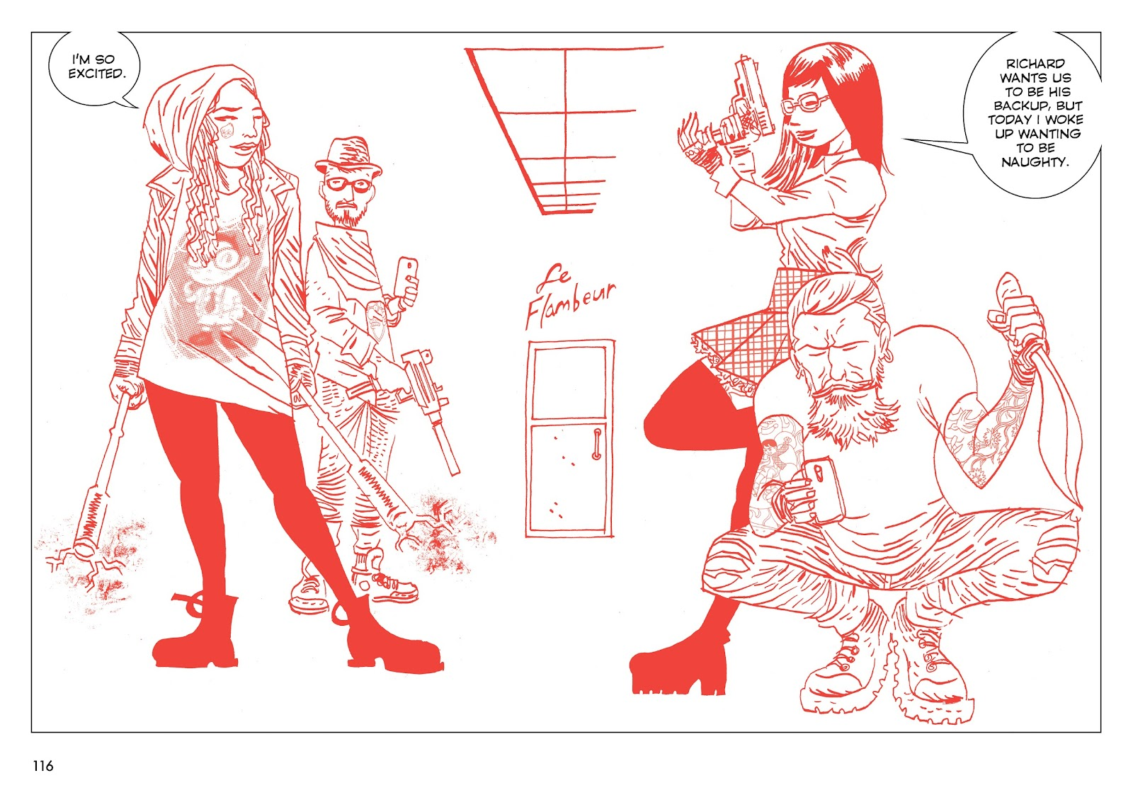 Read online Polar comic -  Issue # TPB The Kaiser Falls (Part 2) - 18