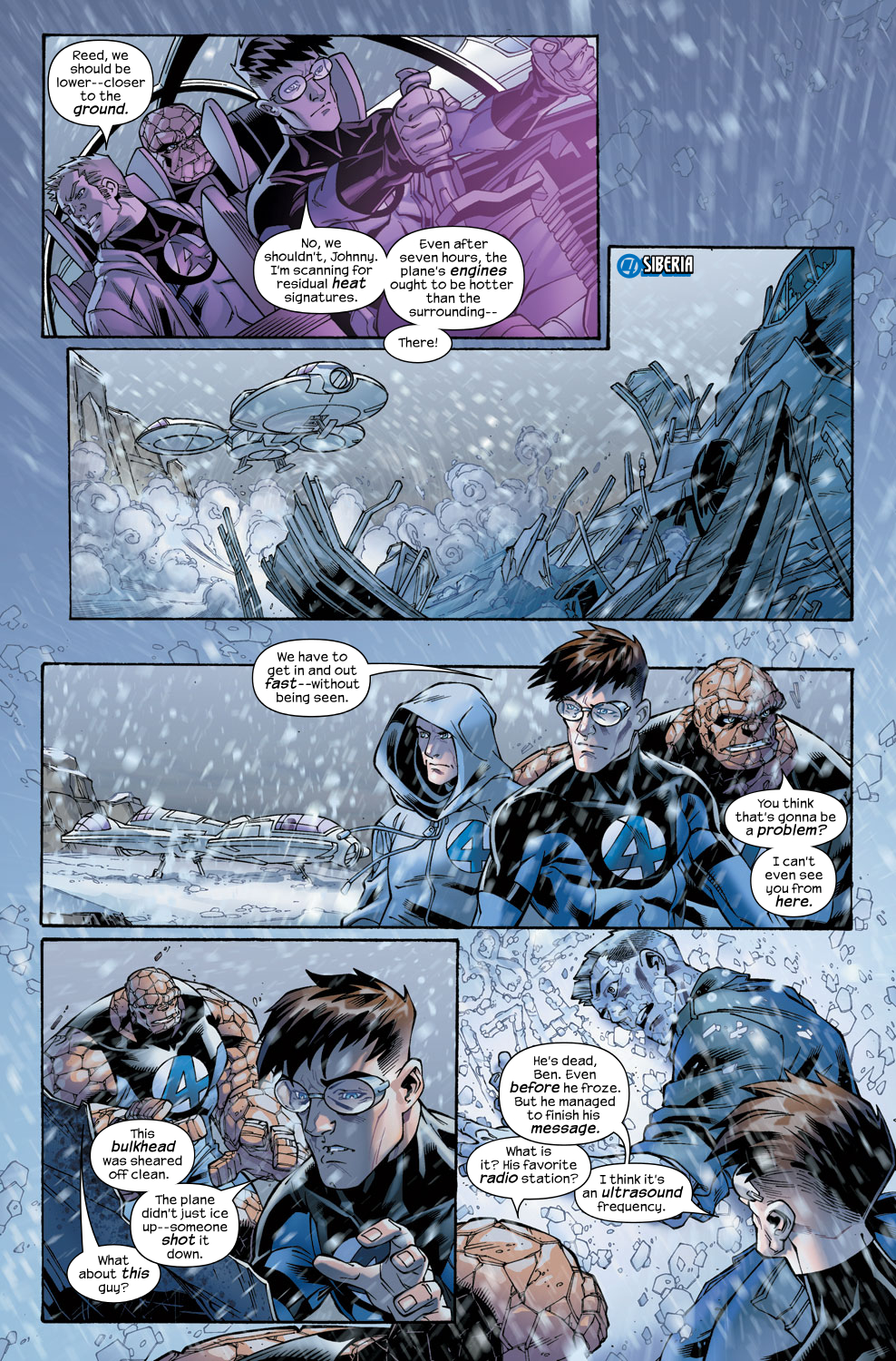 Read online Ultimate Fantastic Four (2004) comic -  Issue #48 - 3