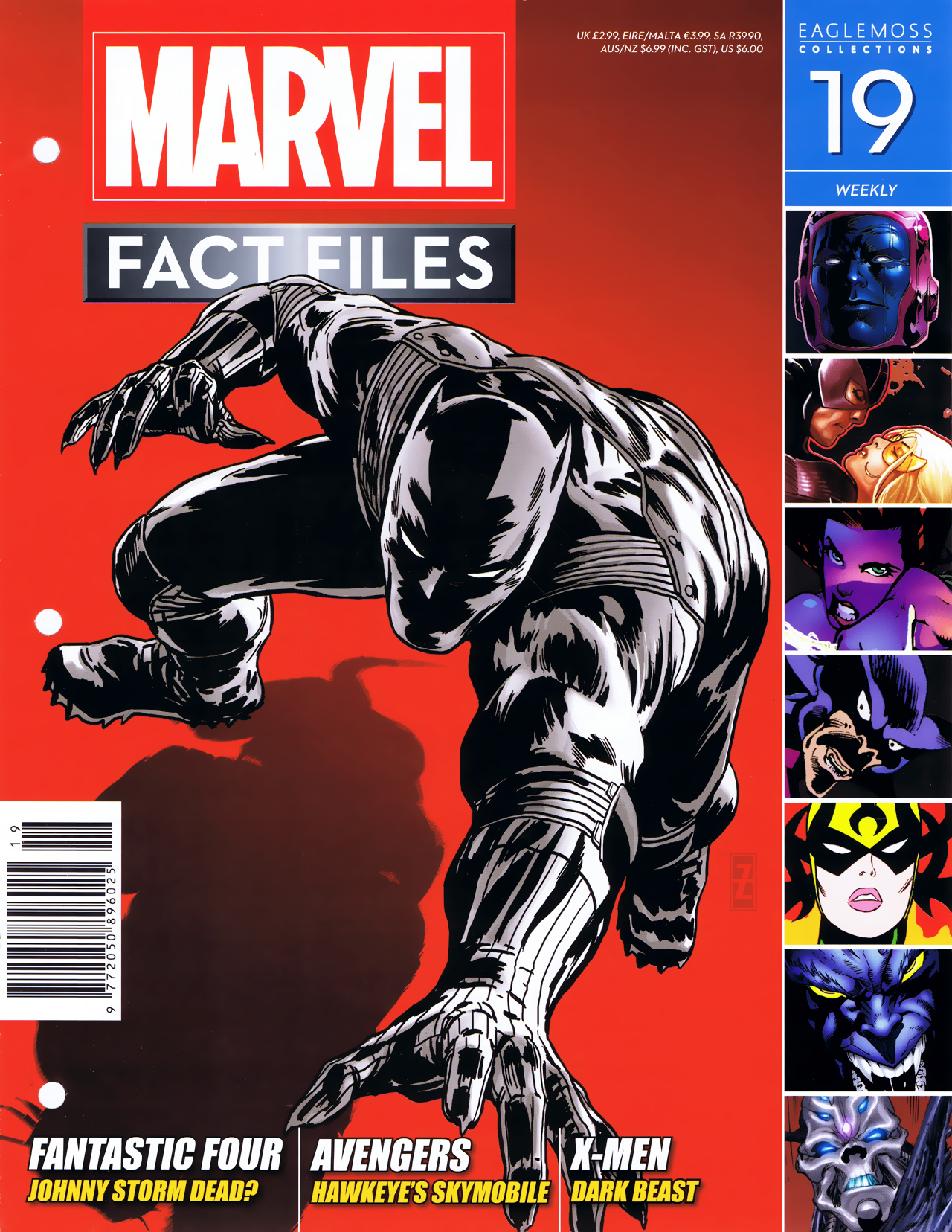 Marvel Fact Files 19 Page 1