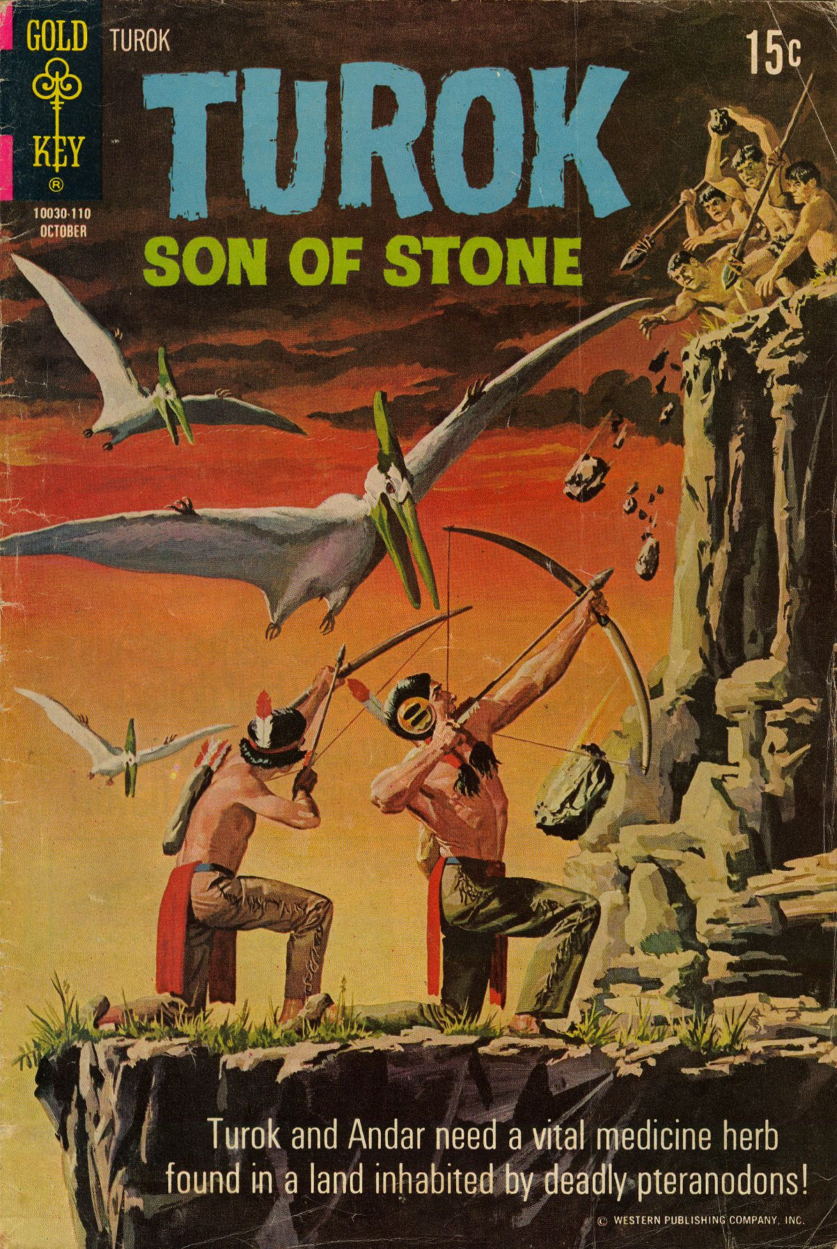 Read online Turok, Son of Stone comic -  Issue #75 - 1