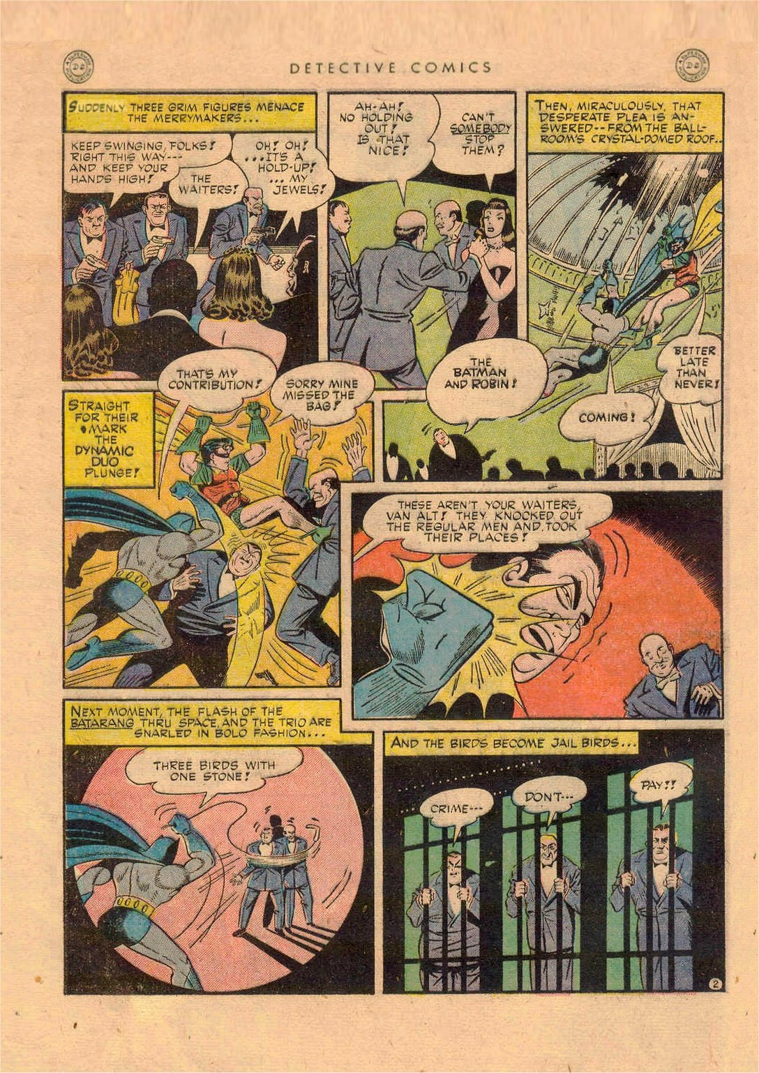 Read online Detective Comics (1937) comic -  Issue #92 - 4