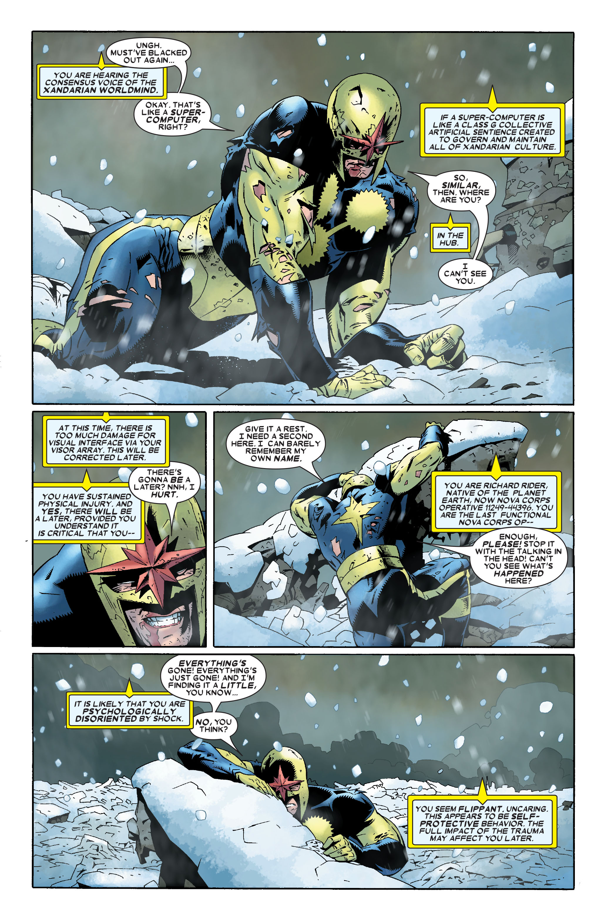 Read online Annihilation: Nova comic -  Issue #1 - 7