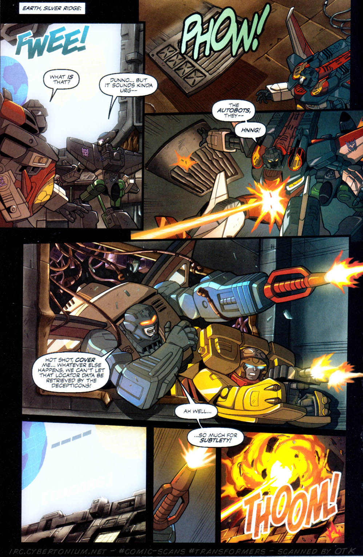 Read online Transformers Armada comic -  Issue #10 - 20