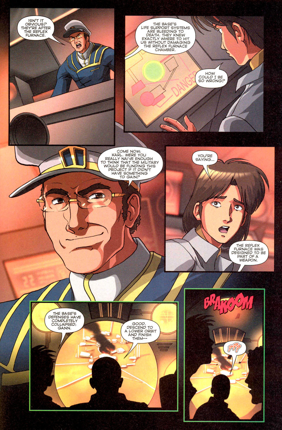 Read online Robotech: Invasion comic -  Issue #3 - 22
