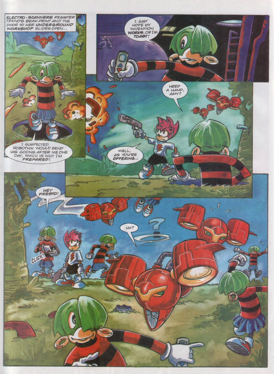 Read online Sonic the Comic comic -  Issue #118 - 23