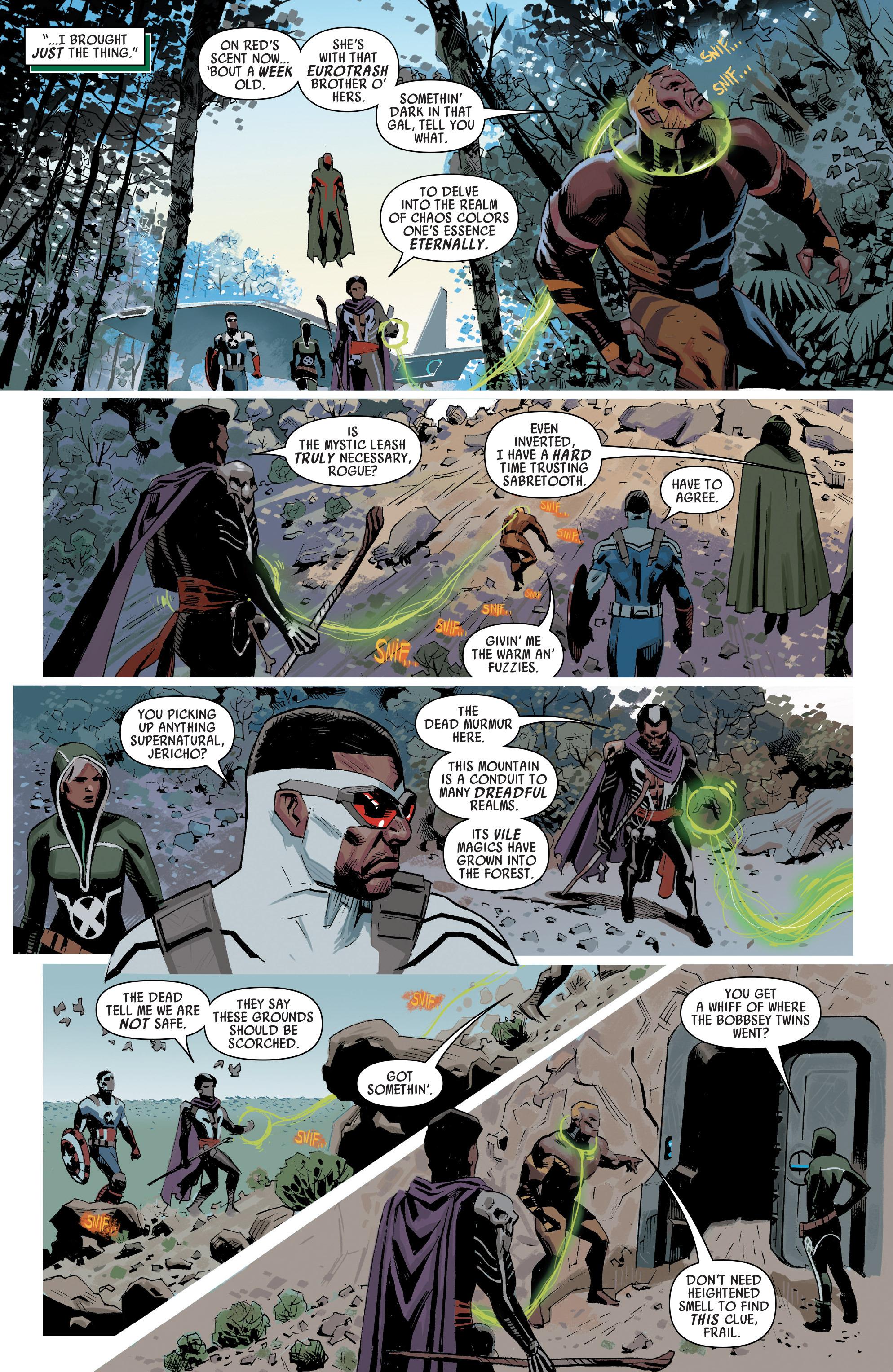 Read online Uncanny Avengers [I] comic -  Issue #1 - 11